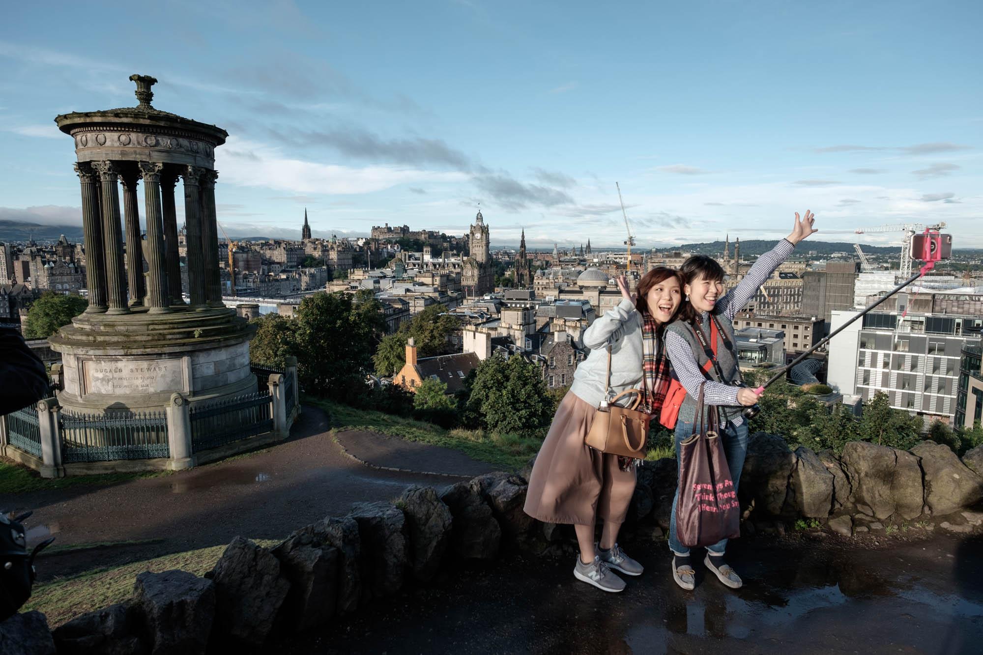 Blick vom Carlton Hill Edinburgh