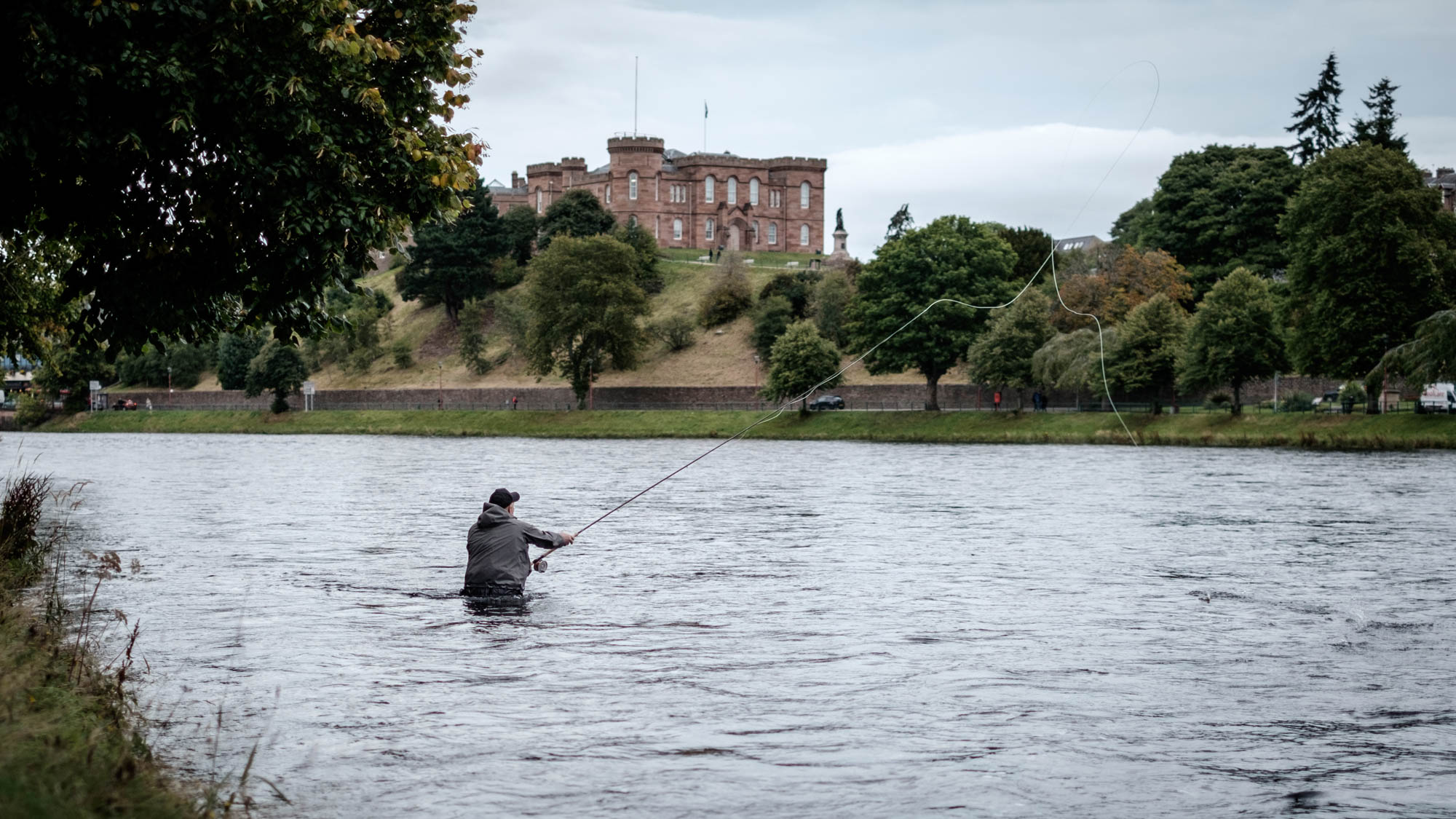 Inverness Castle Schottland