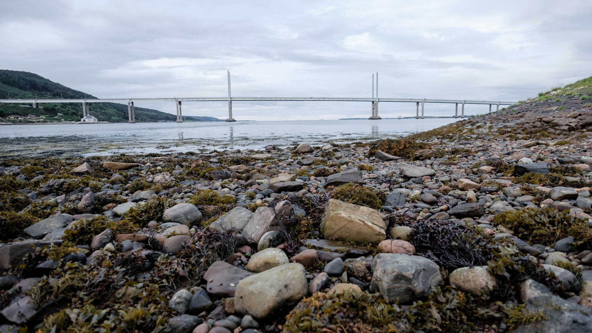 Kessock Bridge bei Inverness Schottland