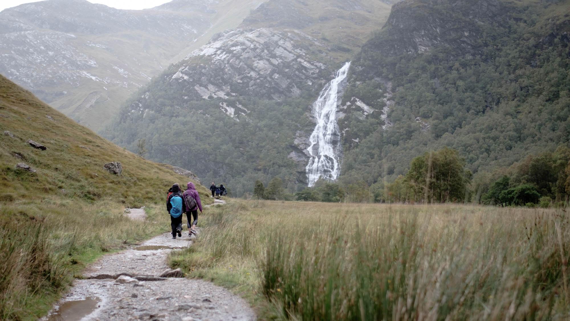 Steall Falls Schottland
