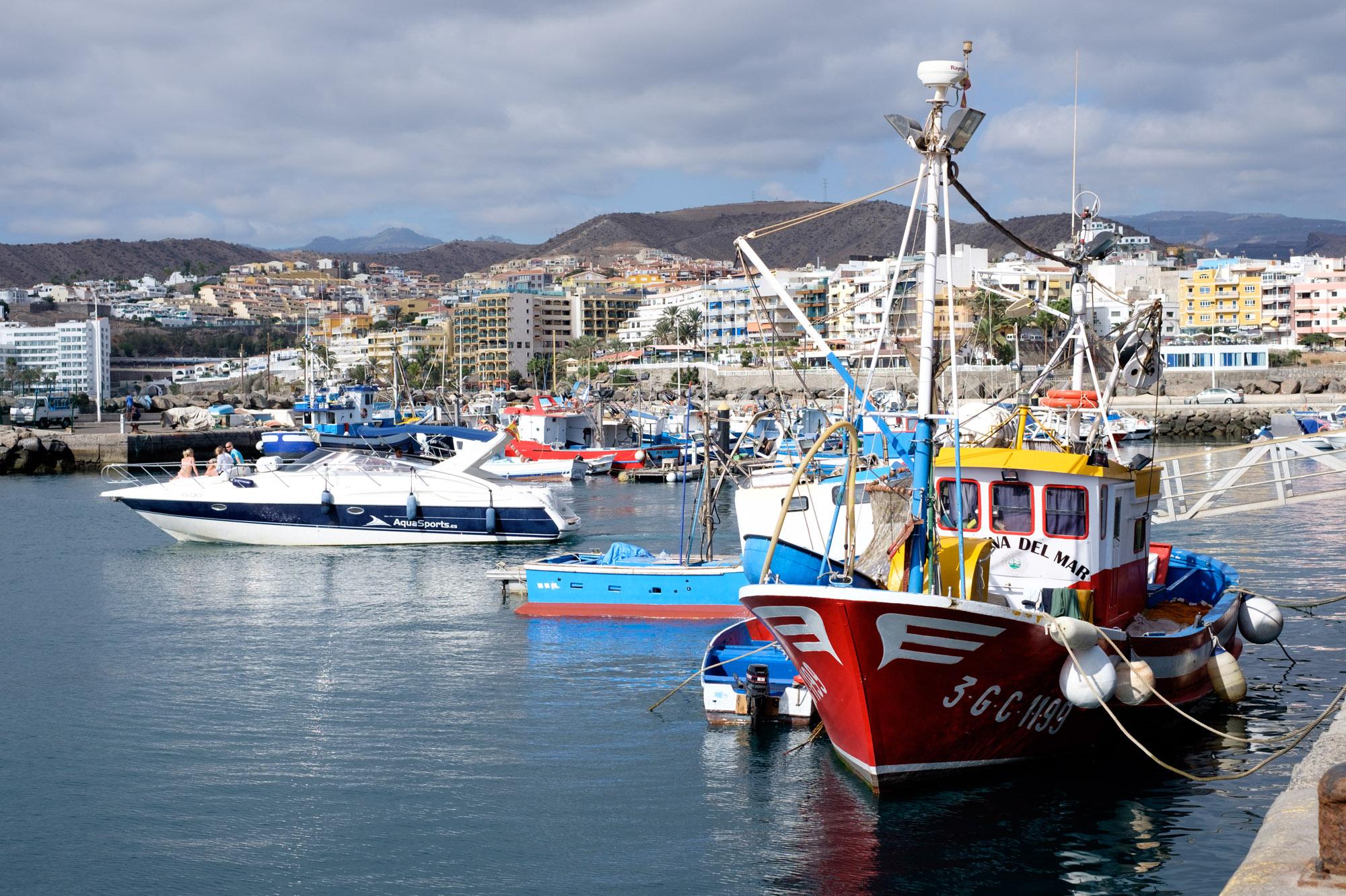 Gran Canaria Hafen Arguineguín