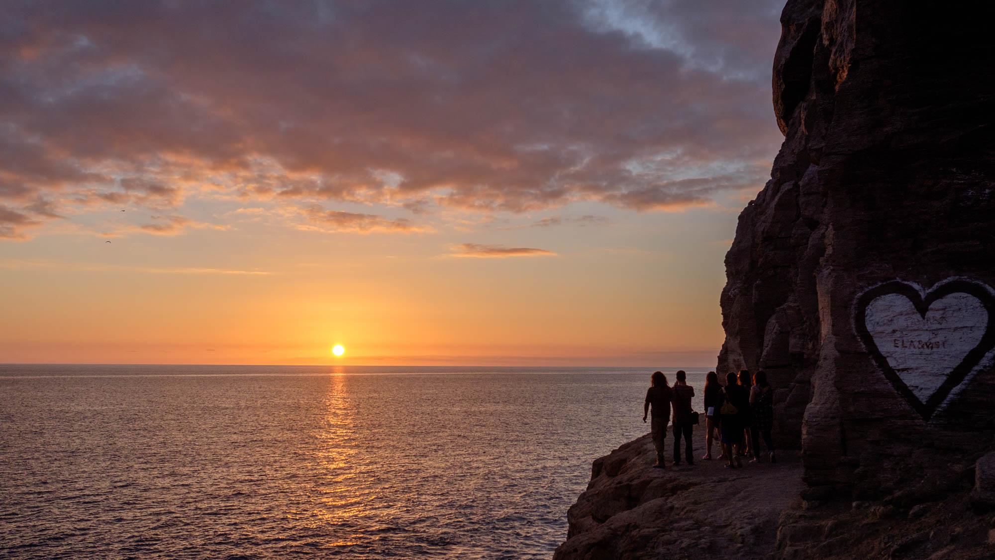 Puerto Mogán Sonnenuntergang