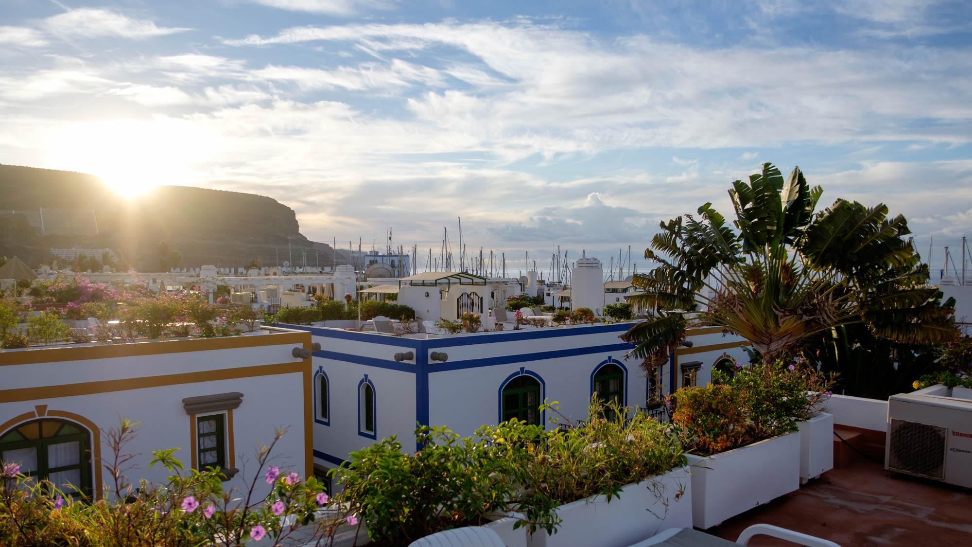 Gran Canaria - Sonnenaufgang in Puerto de Mogán
