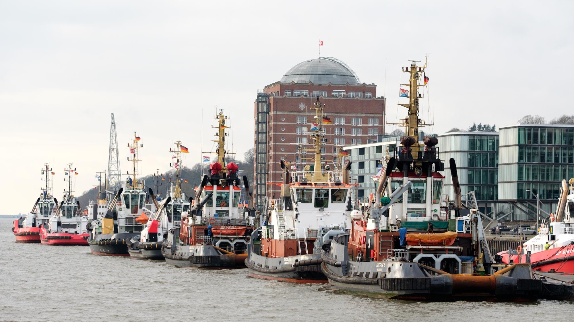 Hamburg Schlepper Elbe