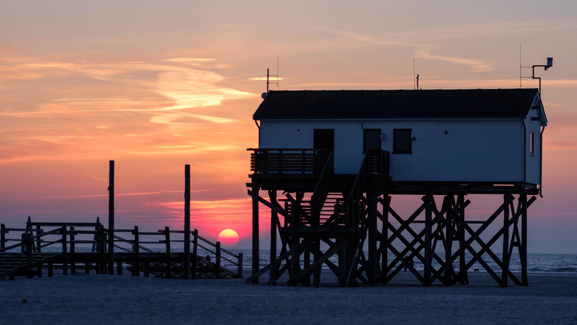 St. Peter-Ording Sonnenuntergang