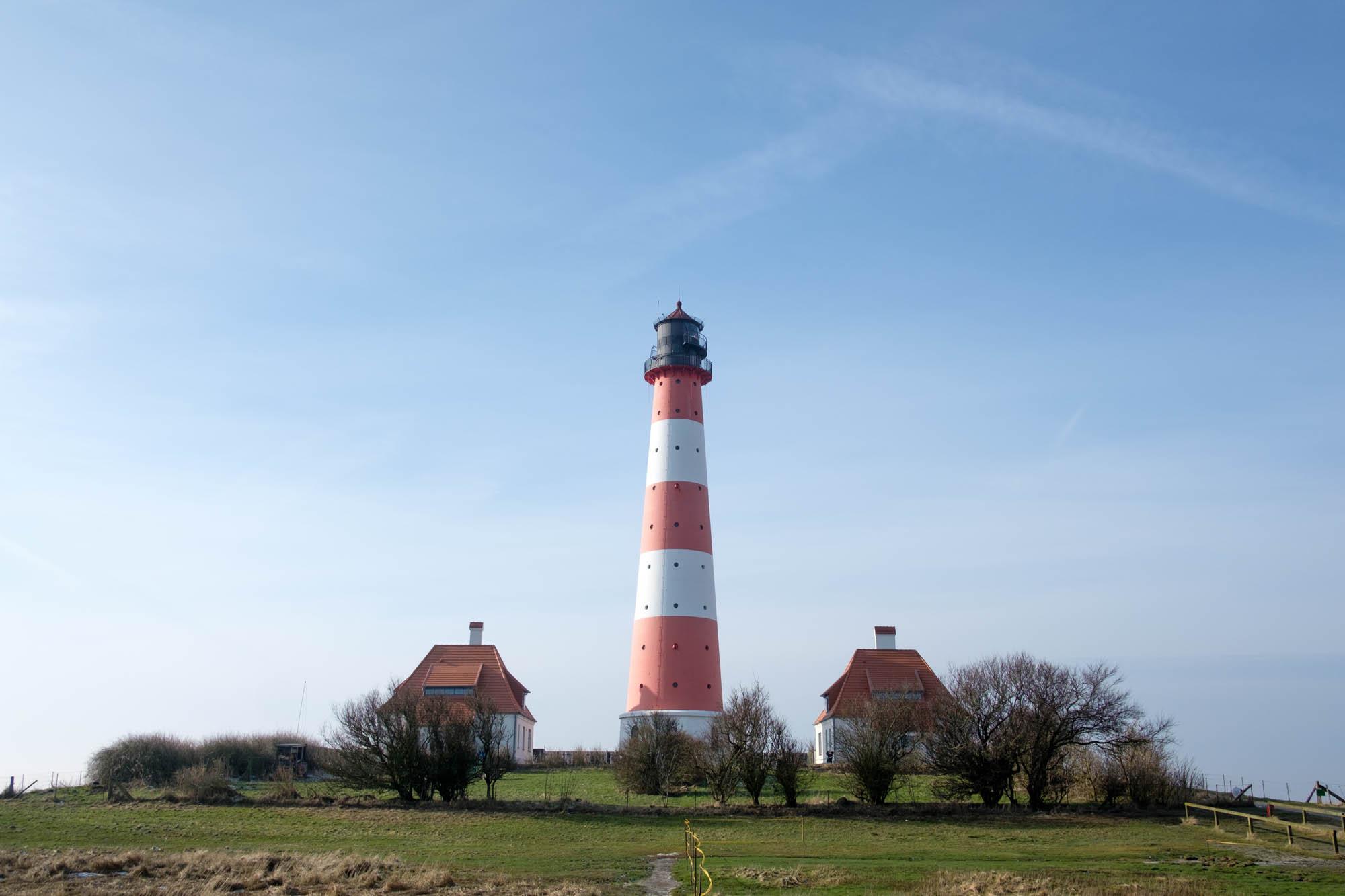 Wanderung zum Leuchtturm Westerheversand