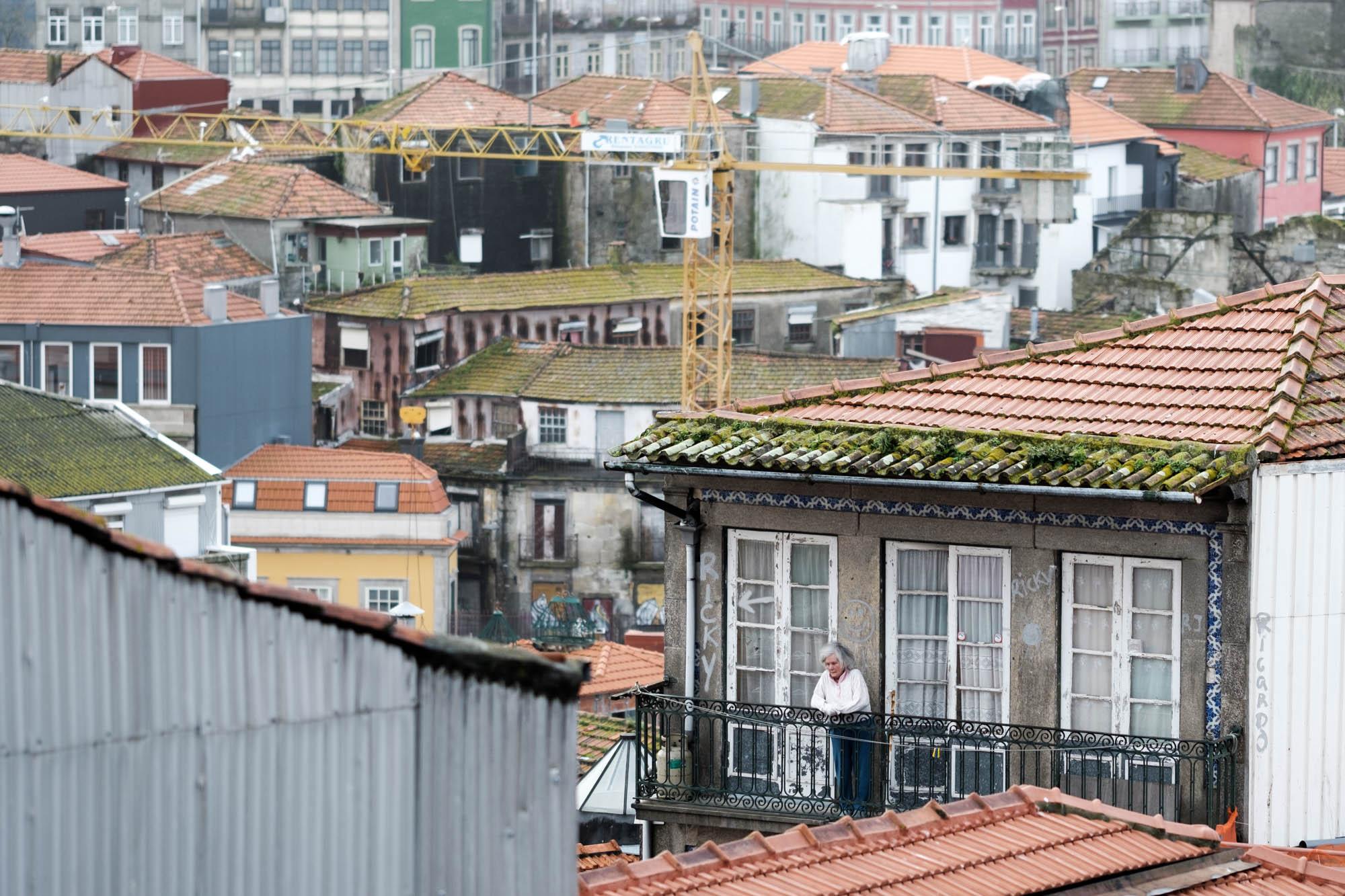 Dächer über Porto, Portugal