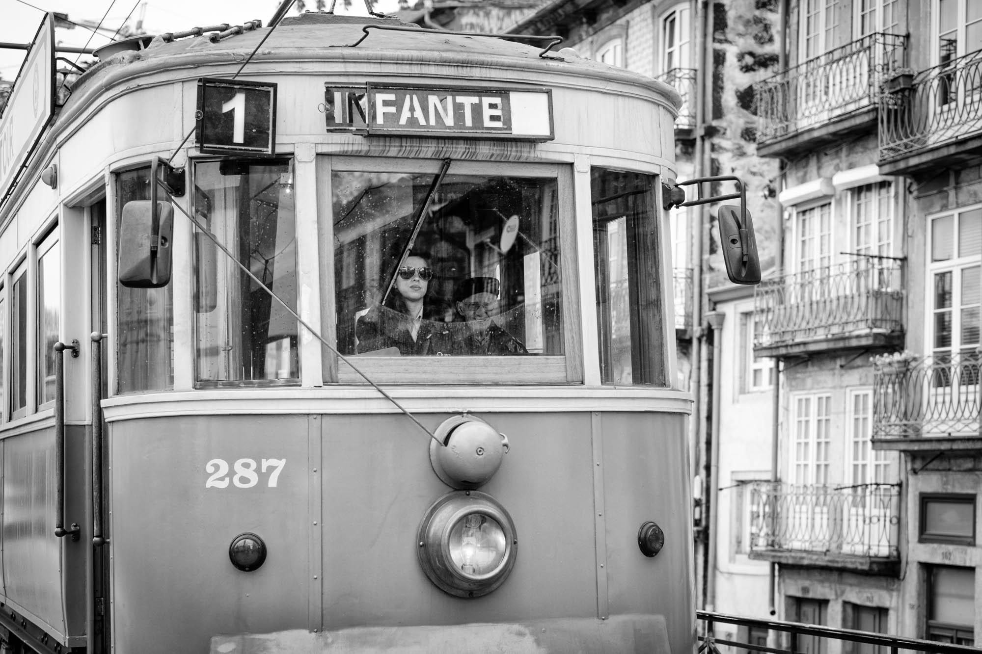 Straßenbahn Porto, Portugal