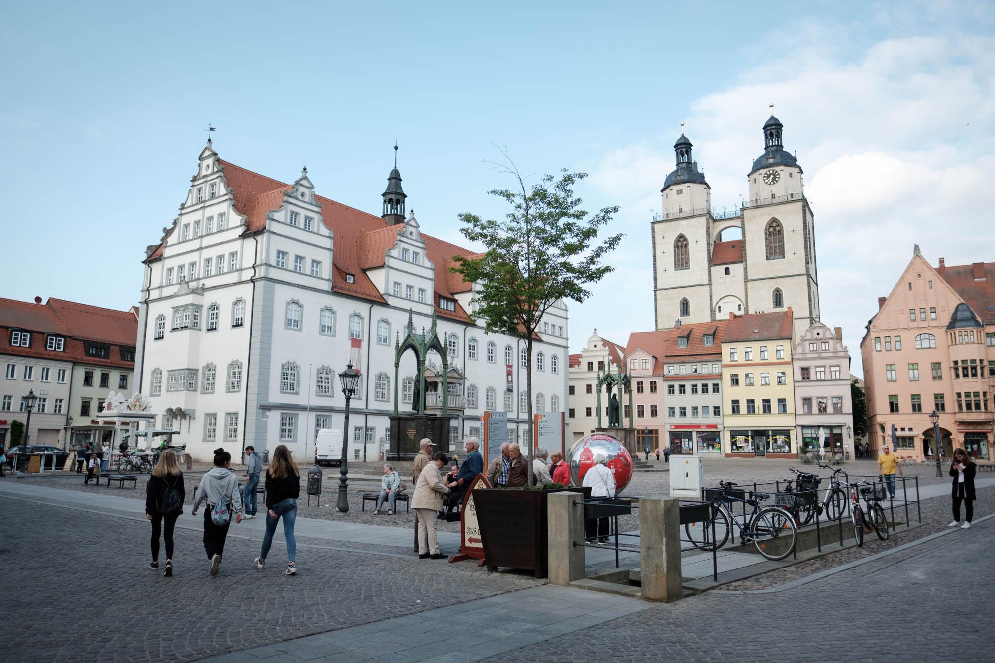 Marktplatz Lutterstadt Wittenberg