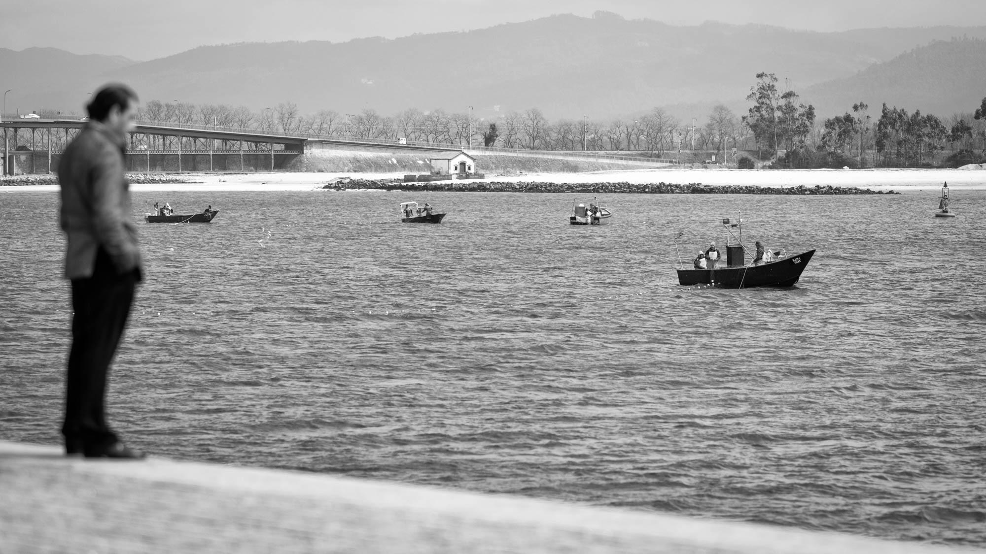 Viana do Castelo Fischer auf dem Lima