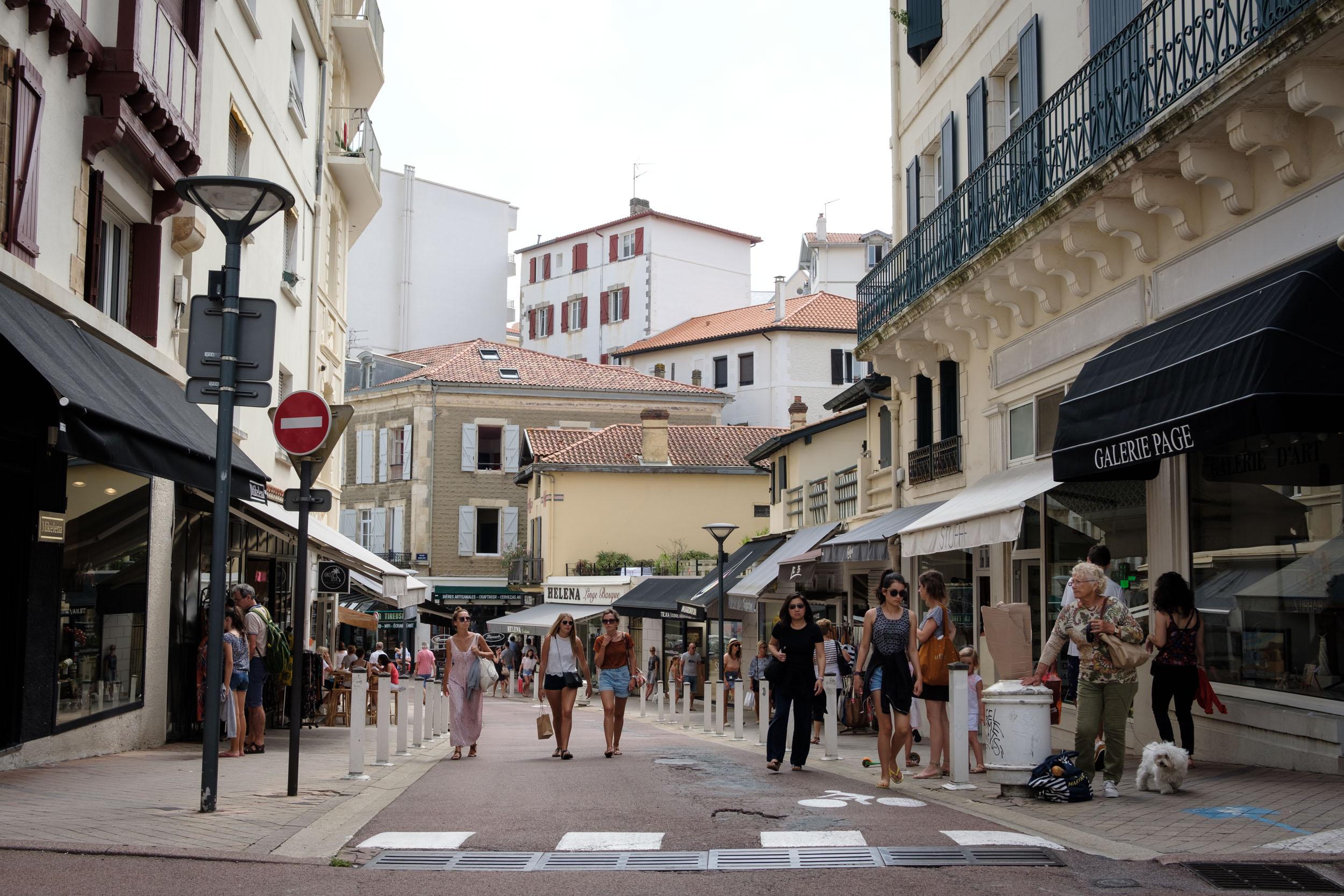 Biarritz Fußgängerzone