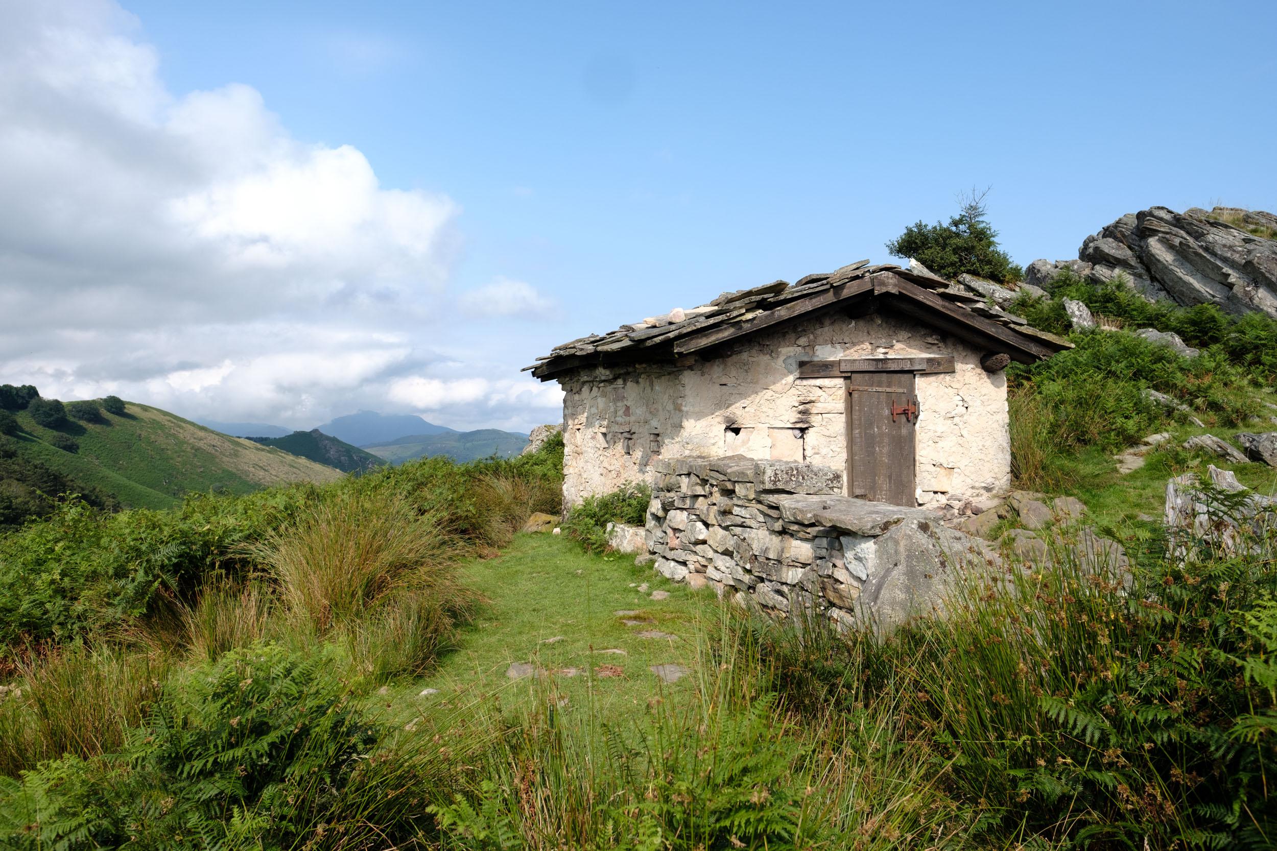 Berghütte am La Rhune