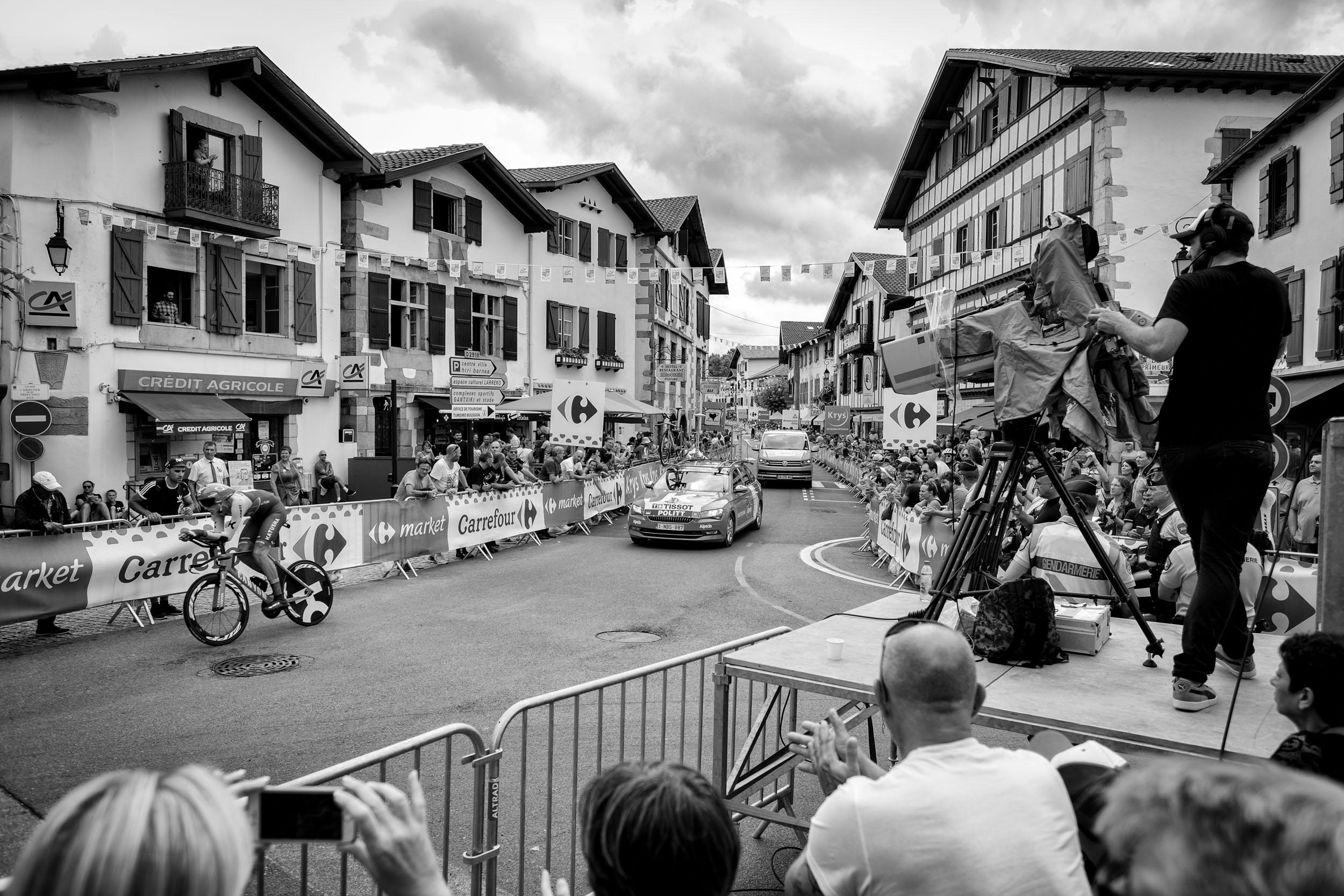 Tour de France in Saint-Pée-sur-Nivelle
