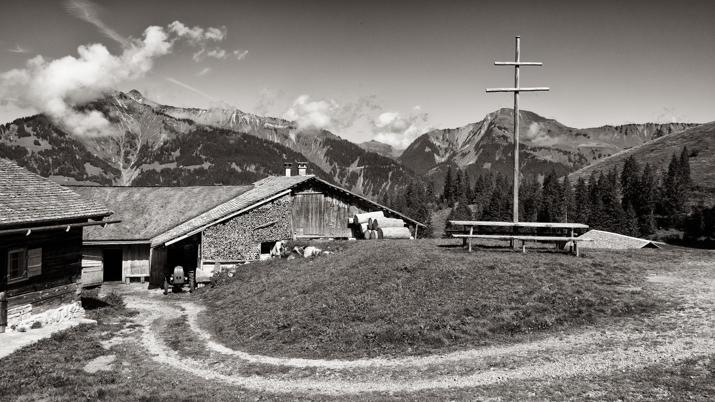 Alp Steris, Großes Walsertal