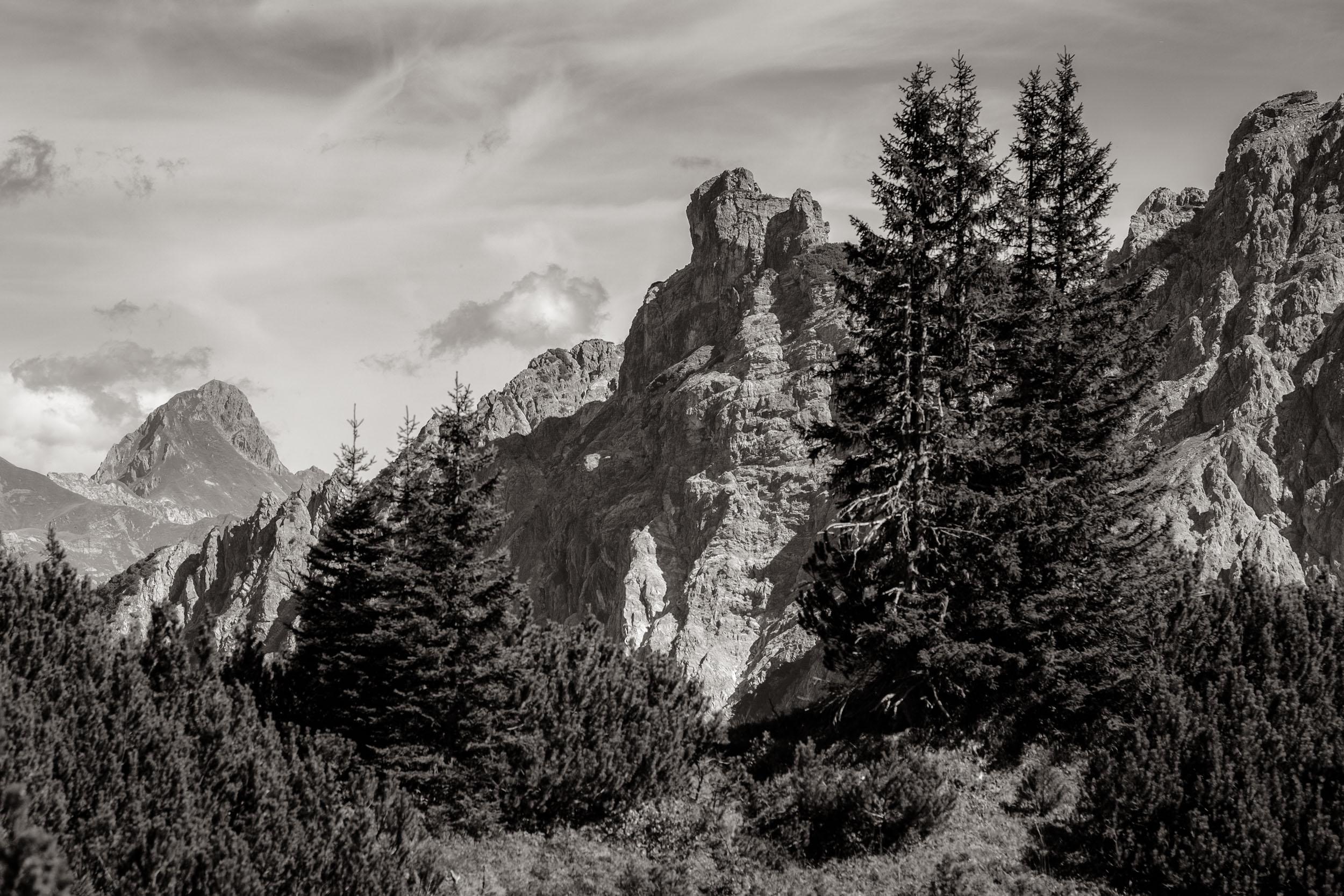 Bettlerspitze Großes Walsertal