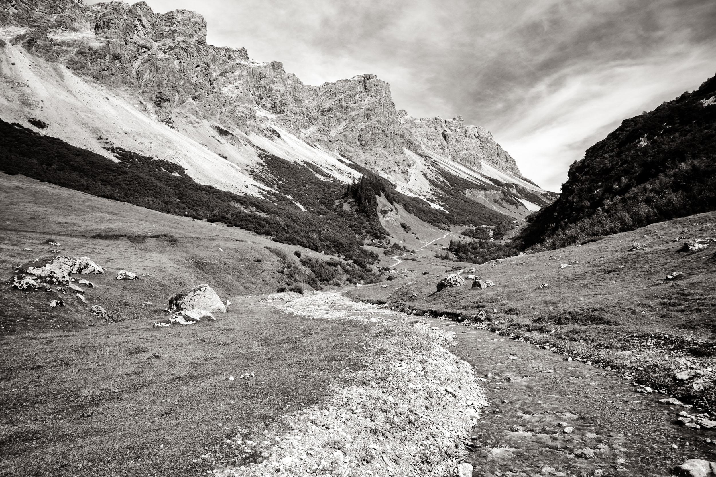 Tal Alpe Kiesenza, Großes Walsertal
