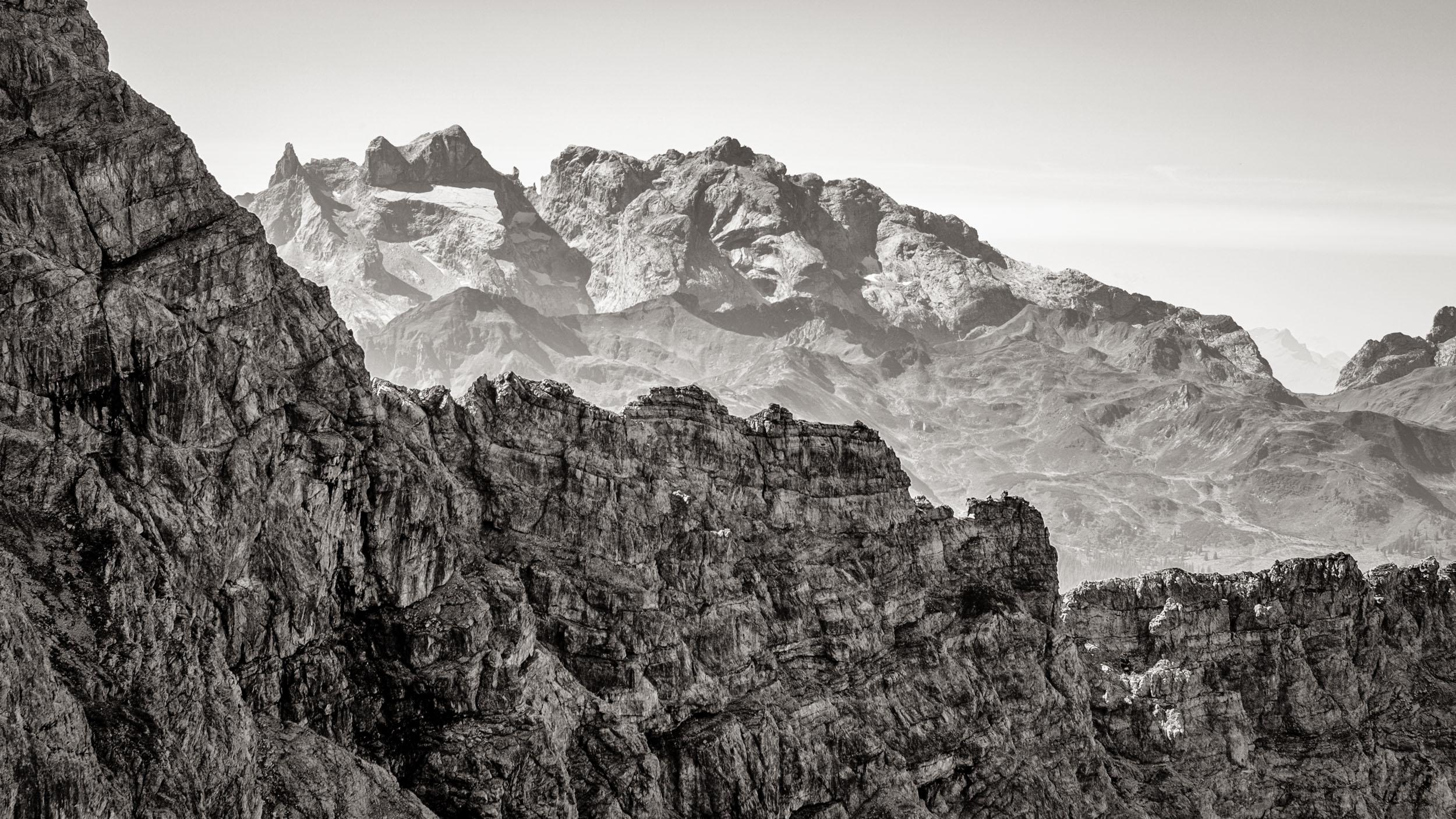 Berge Großes Walsertal