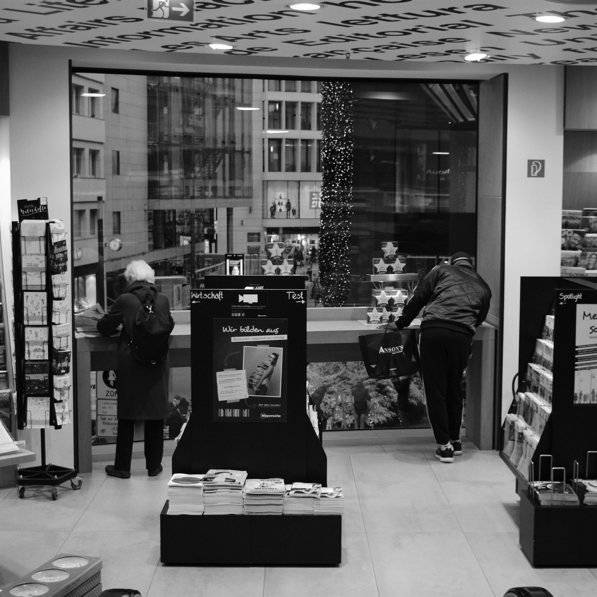 Düsseldorf Thalia Buchhandlung