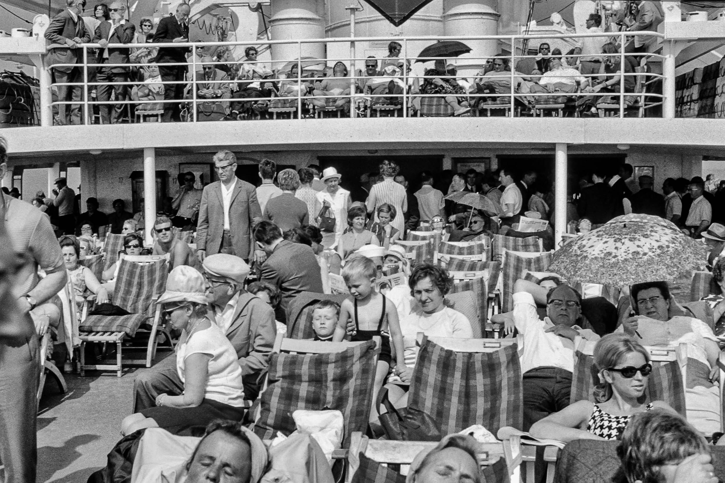 Überfahrt nach Helgoland 1968
