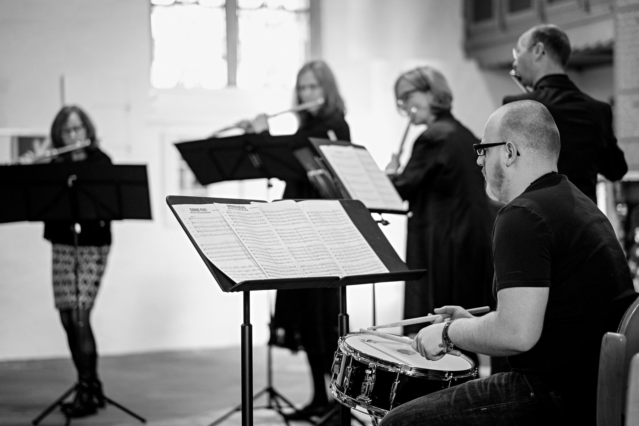 Florian Burkardt, Argillus-Quartett Konzert St. Stephan Vlotho, Argillus