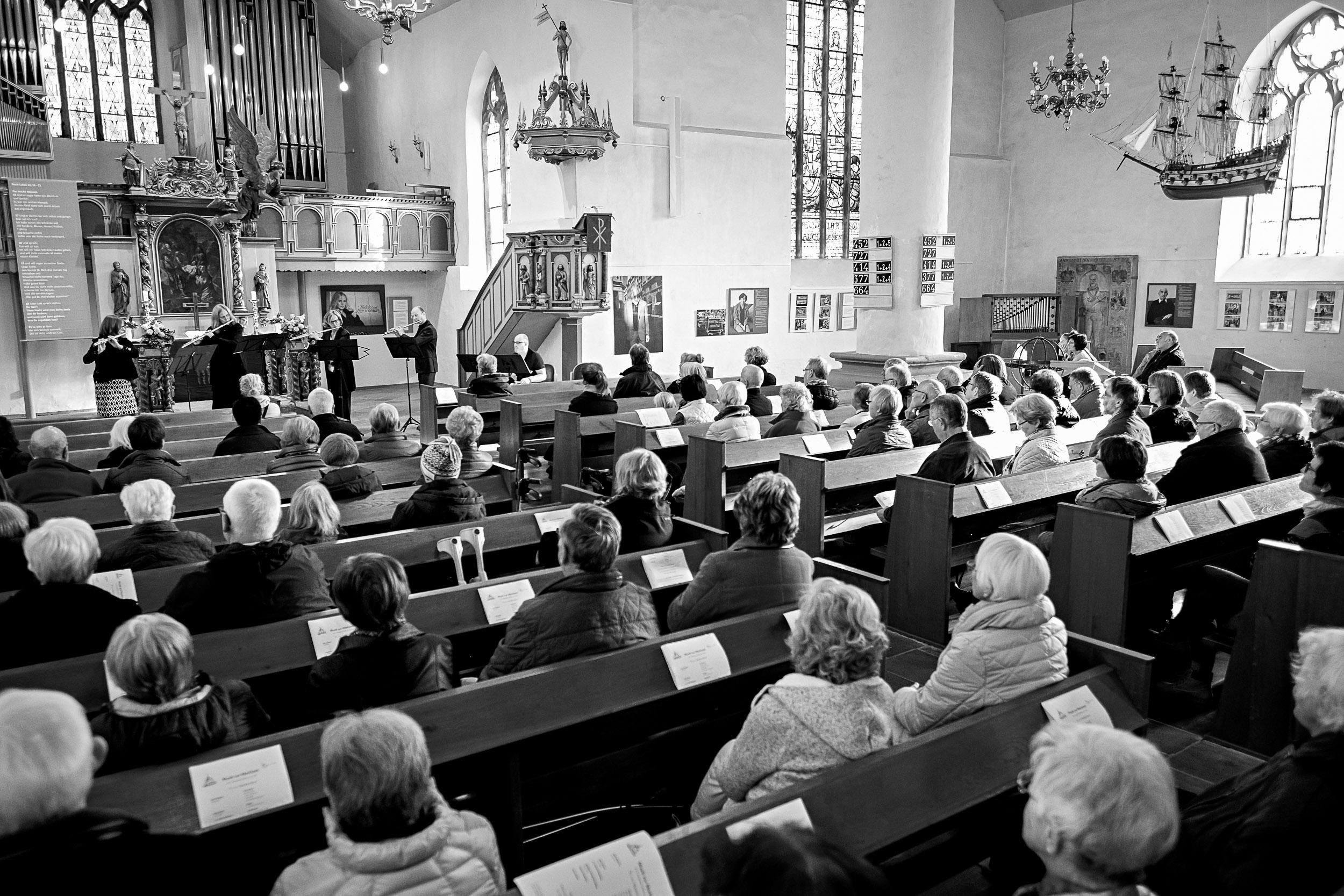 Argillus-Quartett Konzert St. Stephan Vlotho, Argillus