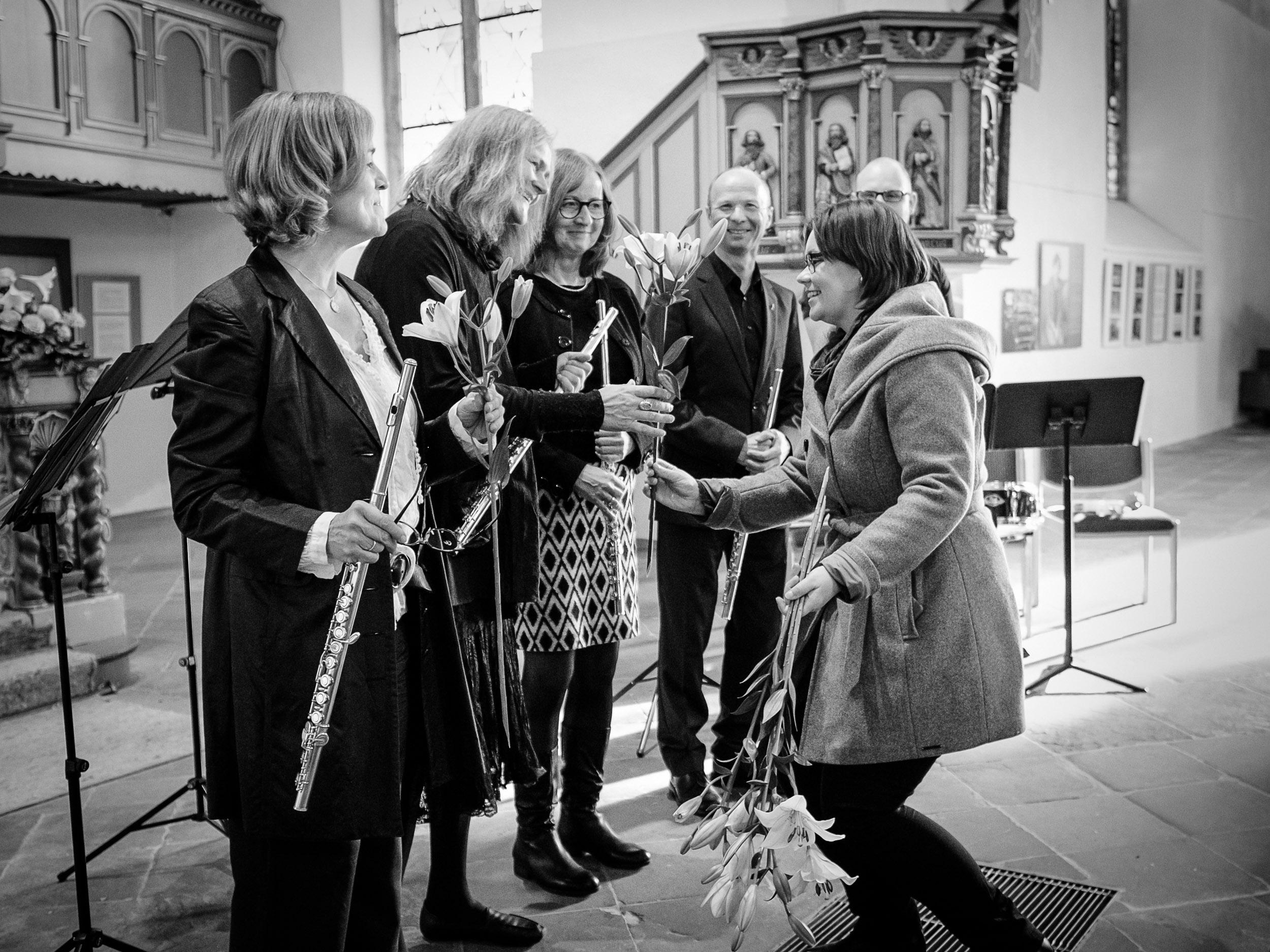 Argillus-Quartett Konzert St. Stephan Vlotho und Liga Auguste, Argillus