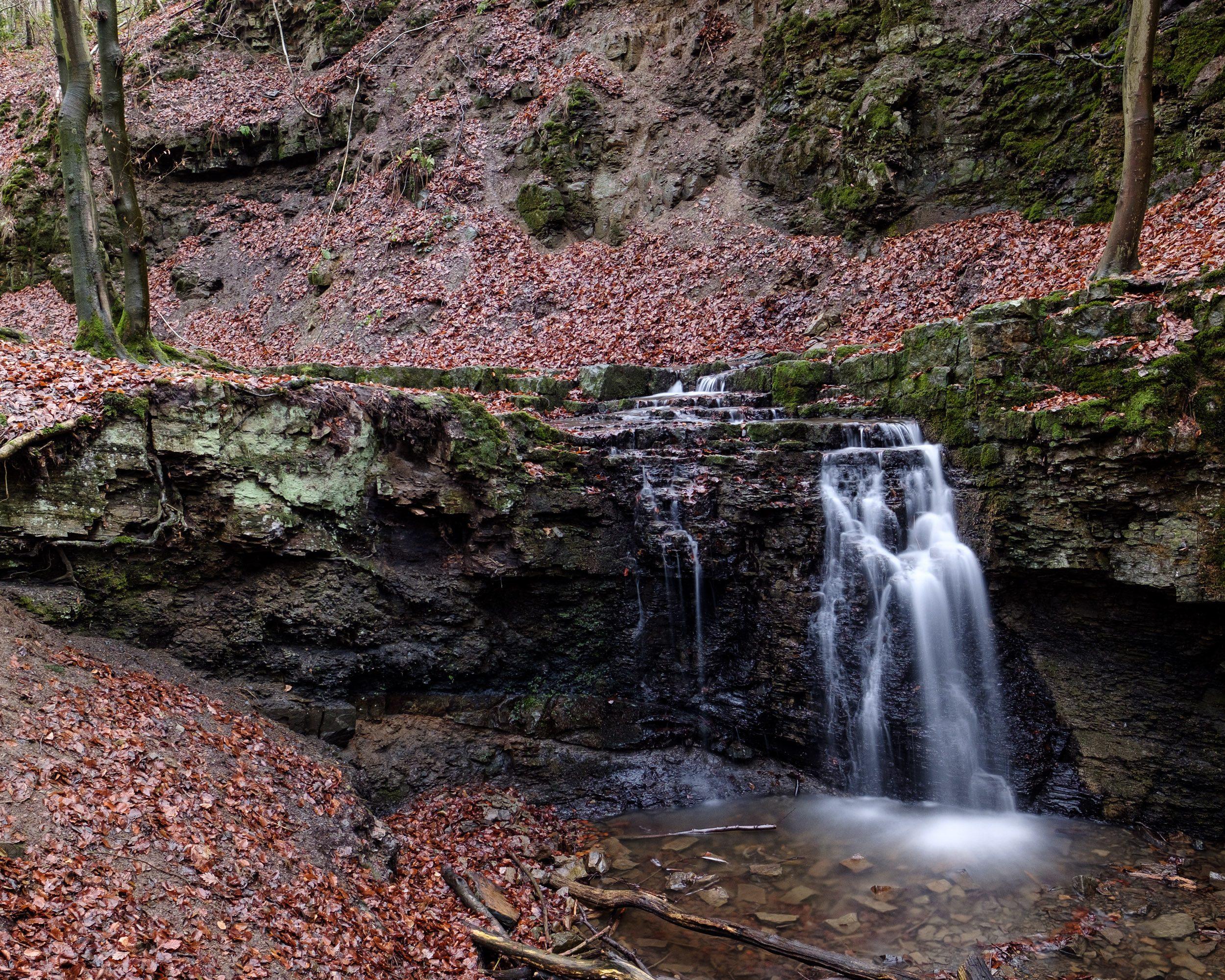 Wasserfall Patensteig Extertal