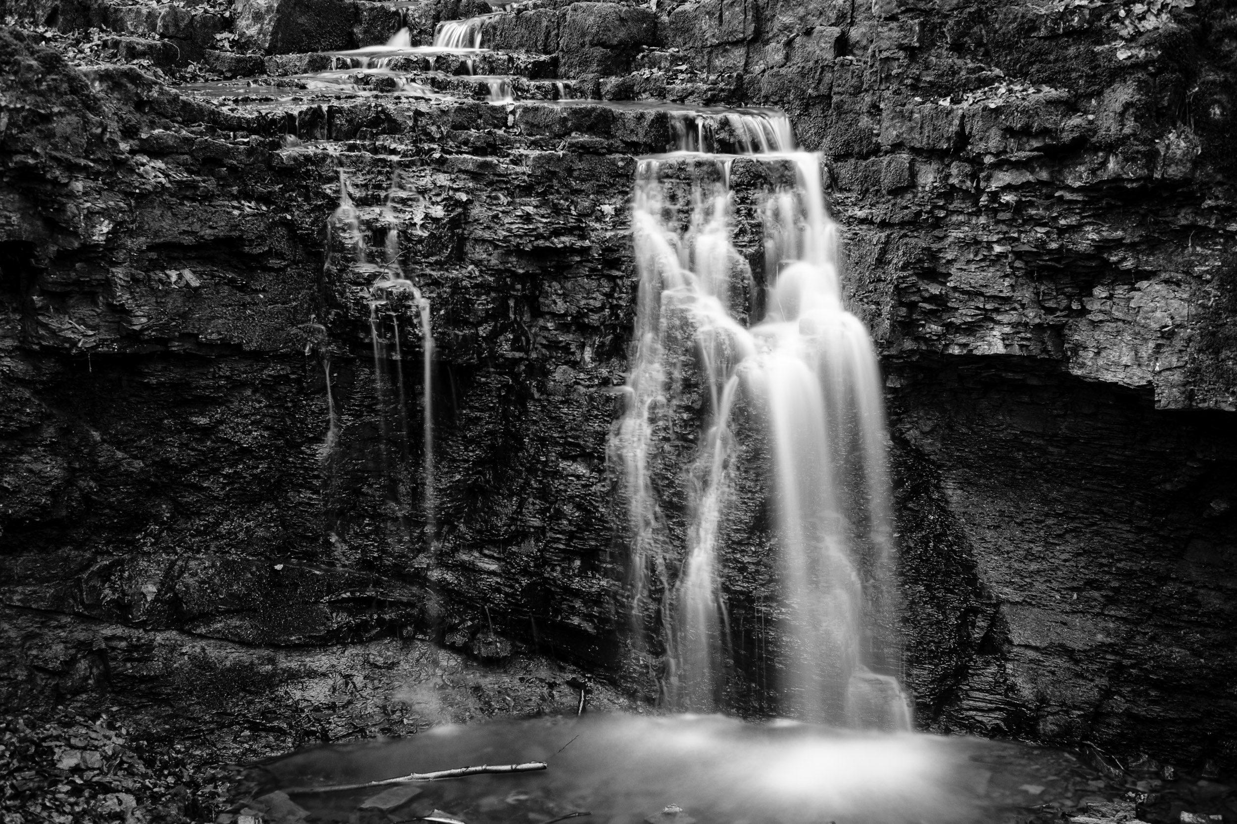 Patensteig, Wasserfall Rickbachschlucht