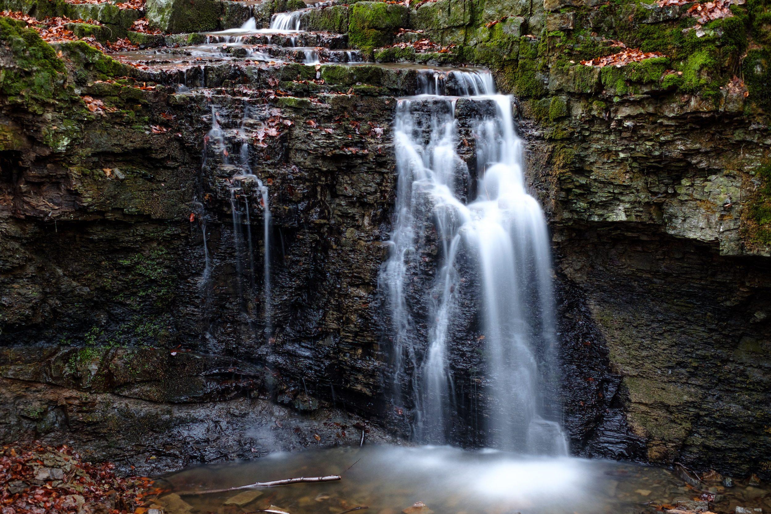 Wasserfall Rickbachschlucht Extertal