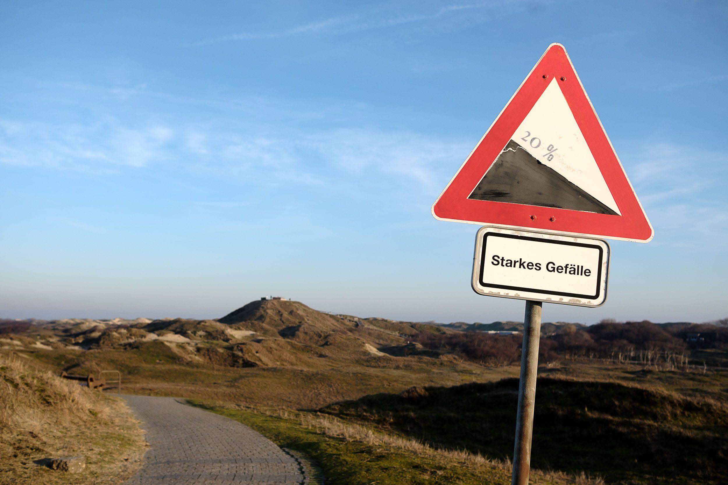 Fahrradschild Norderney