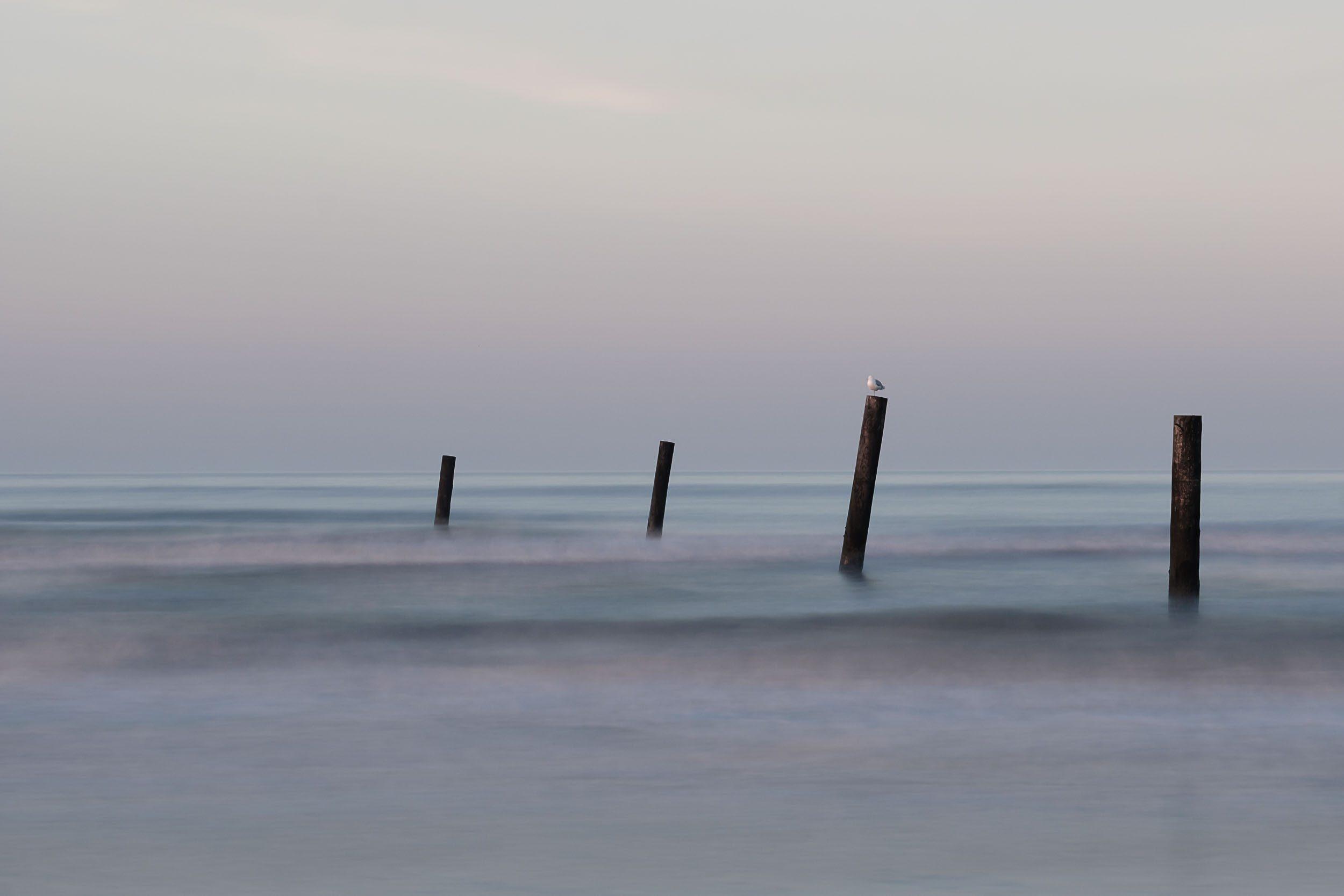 Norderney Strand ND10 Langzeitbelichtung