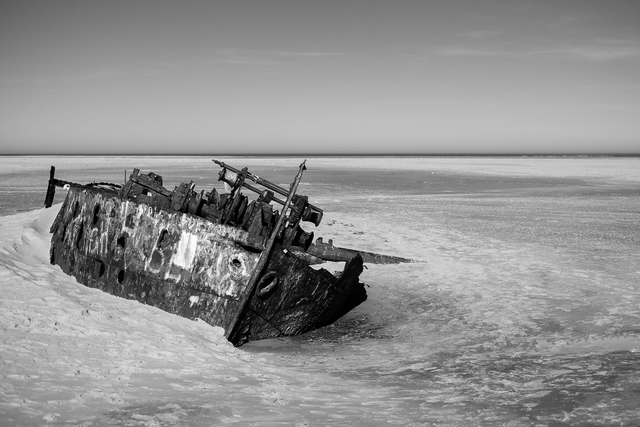 Norderney Schiffswrack