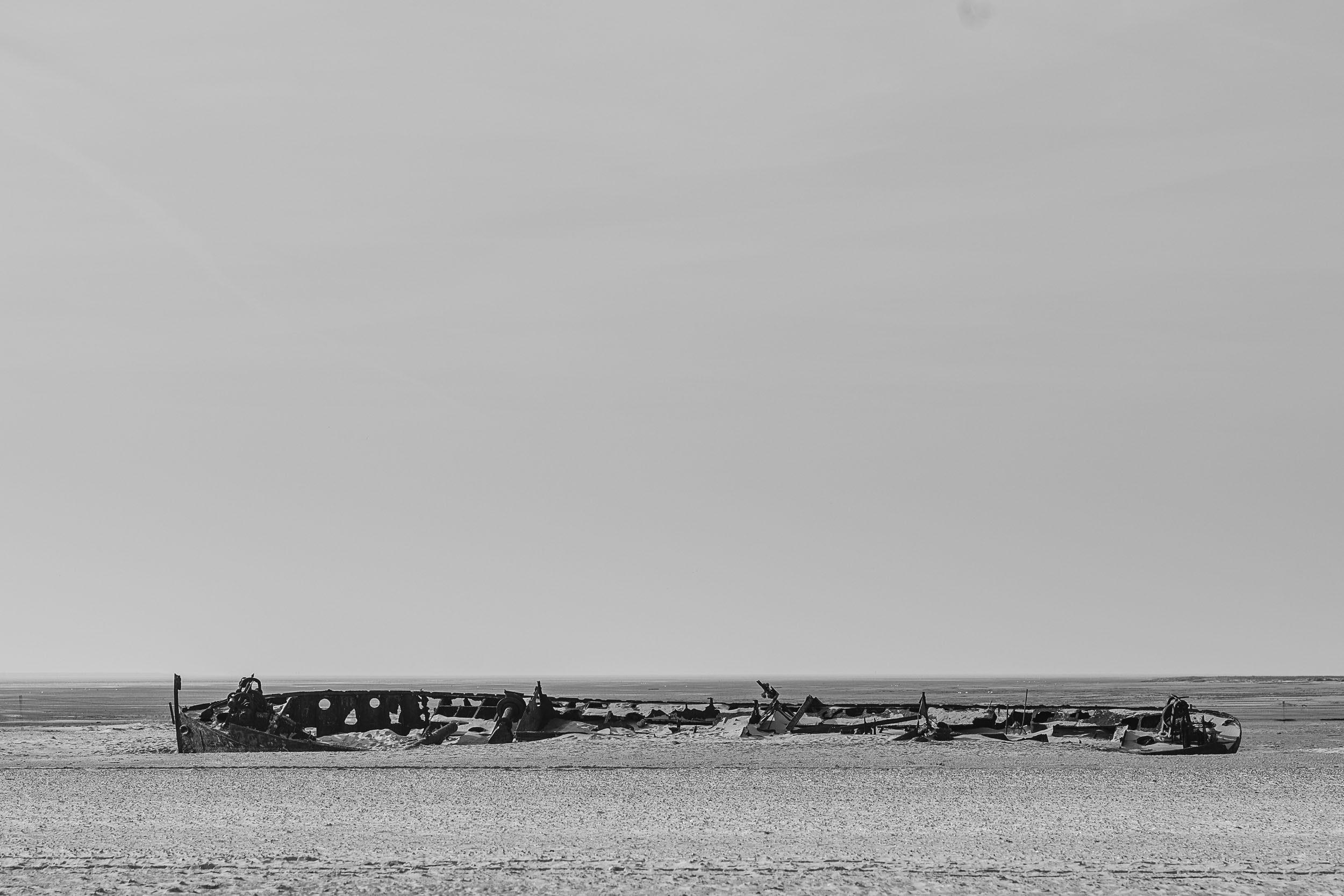 Schiffswrack Norderney
