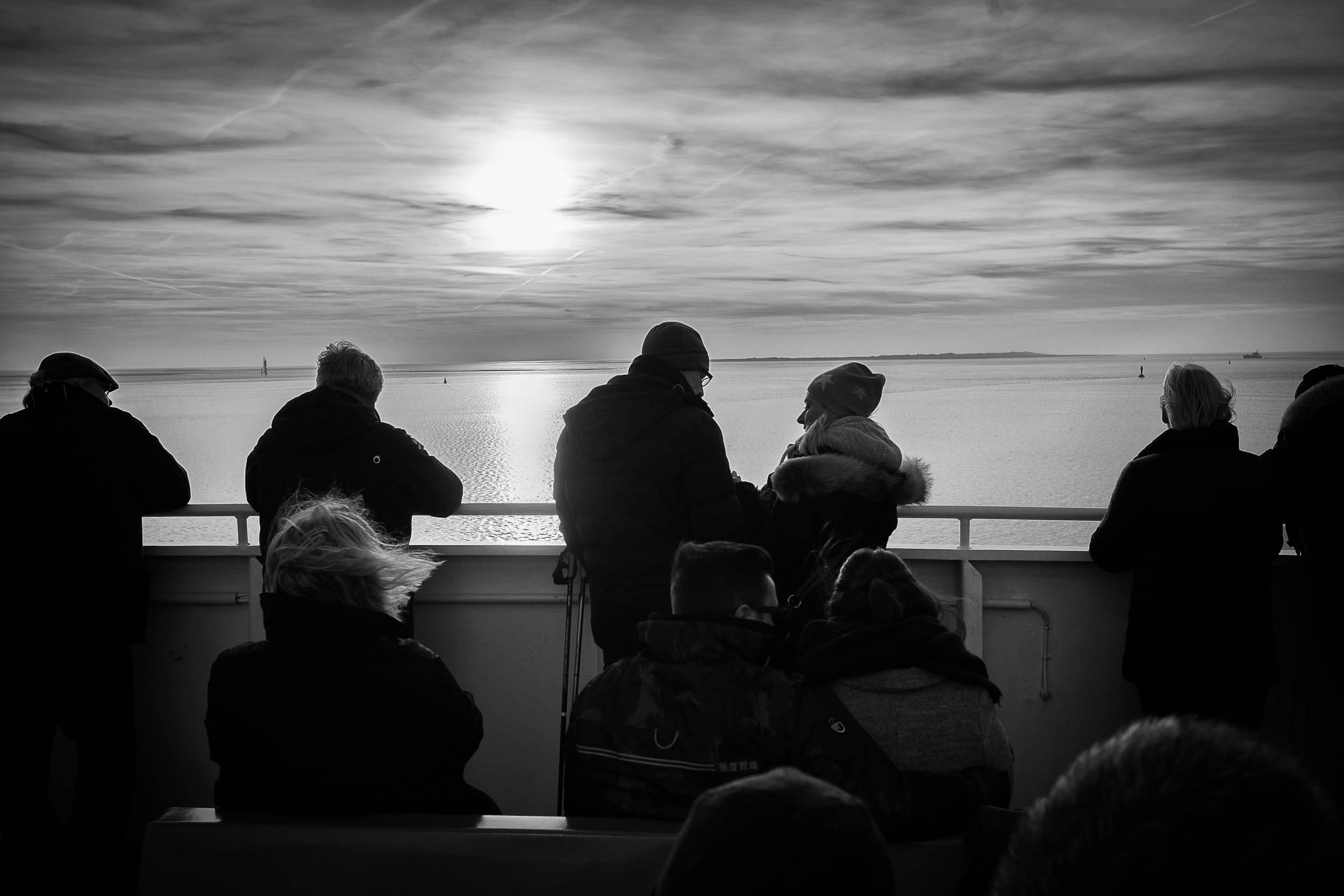 Überfahrt Norderney