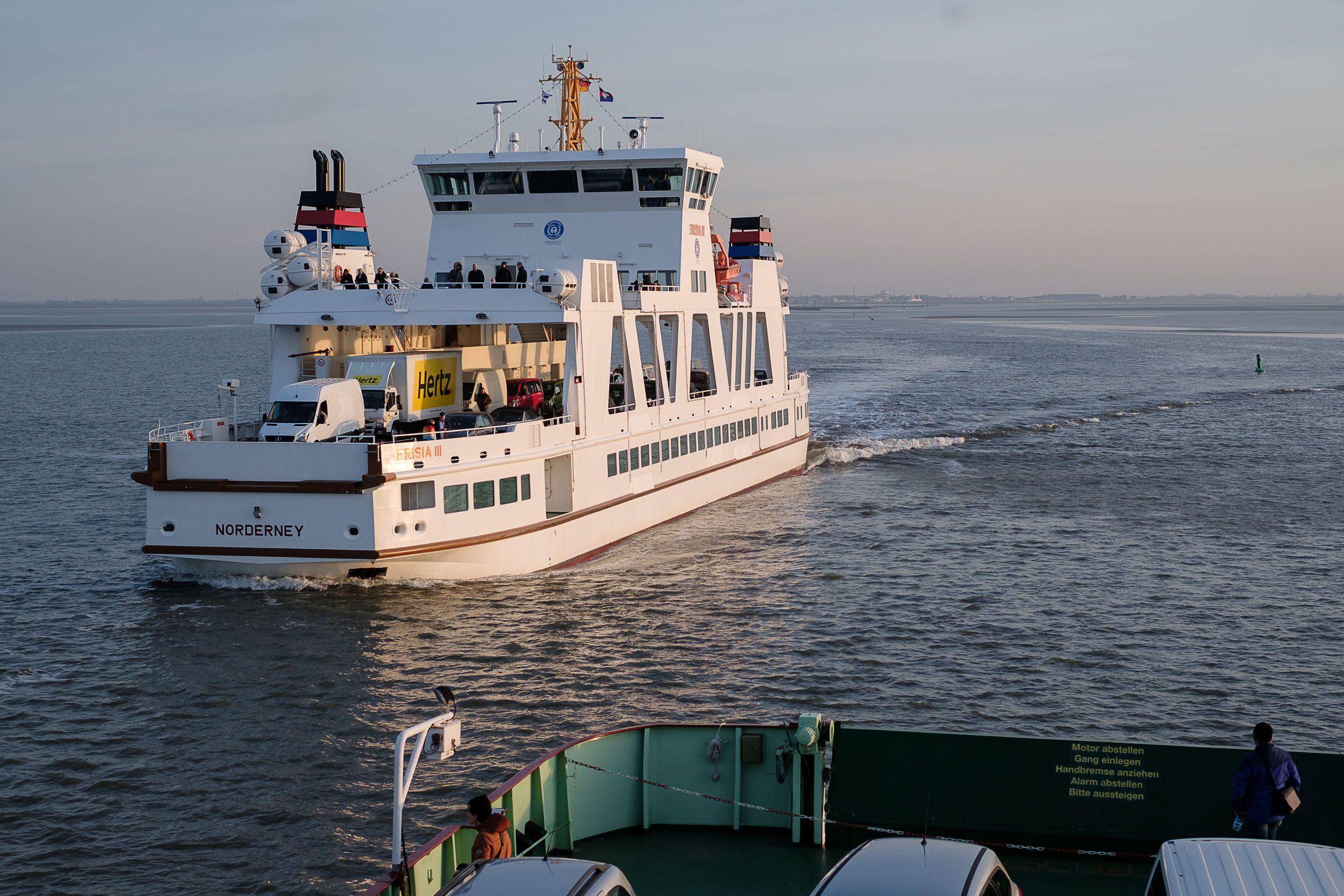 Fähre Norden - Norderney