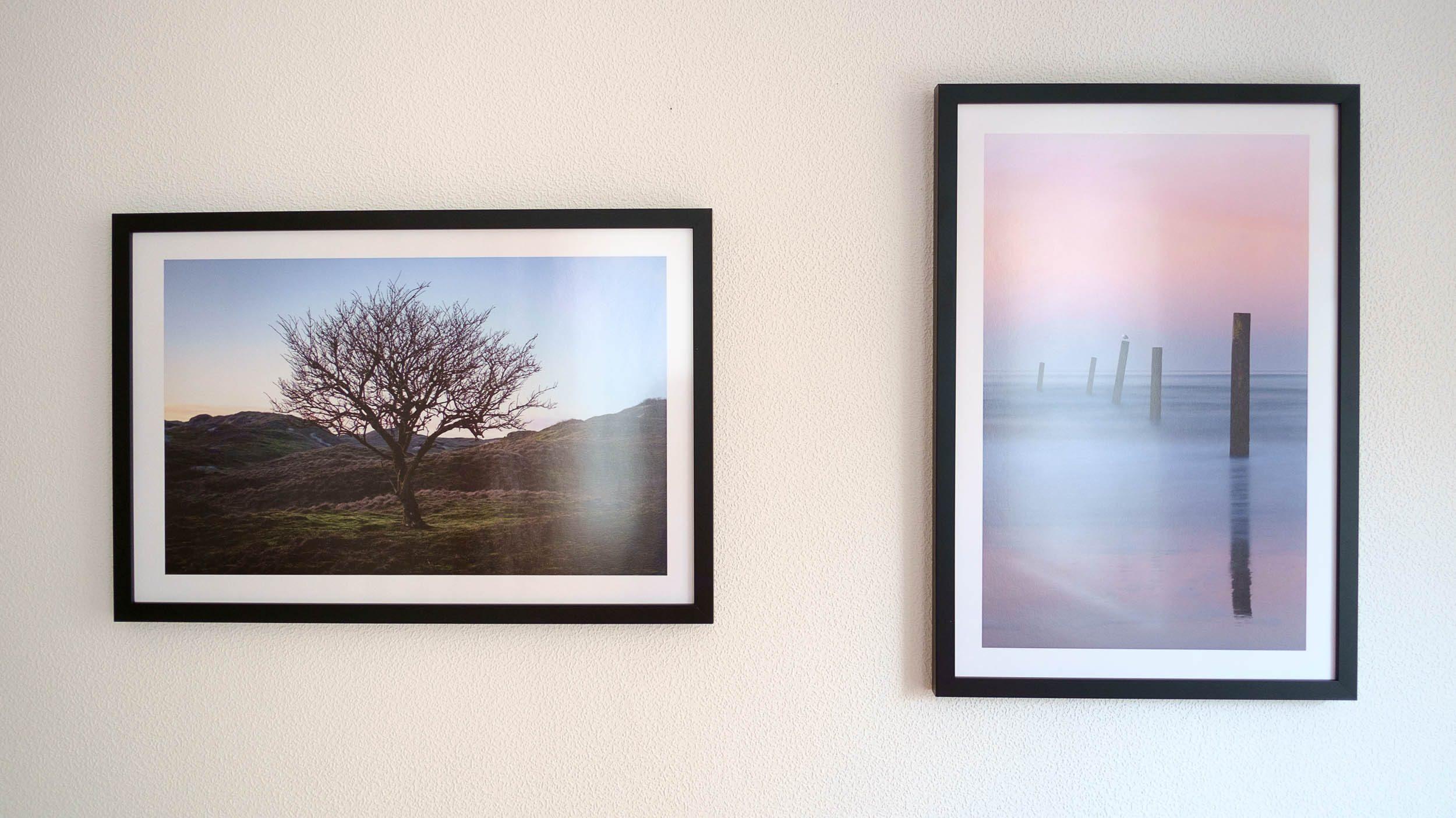 Fertige Bilder als Fine Art Prints