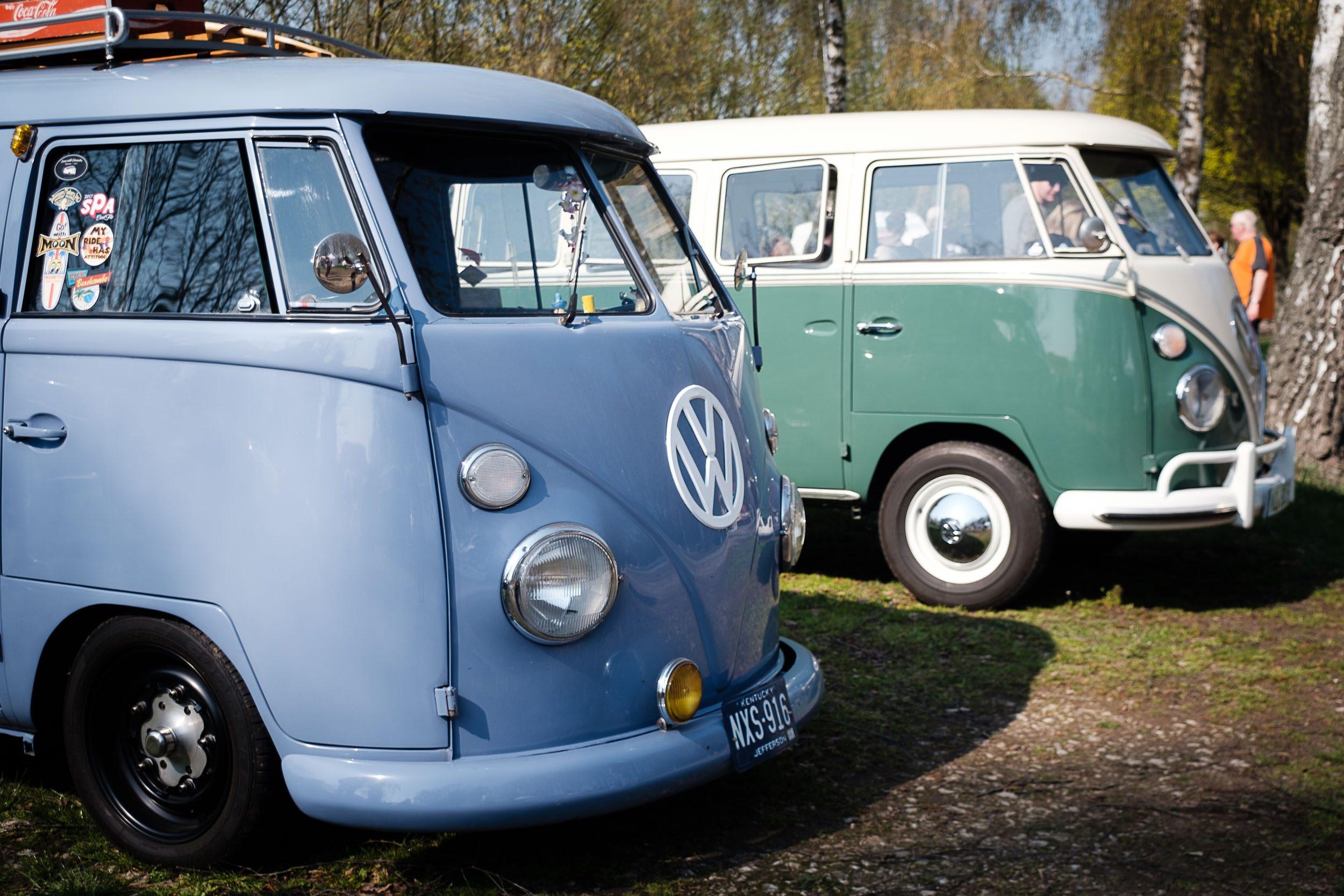 VW-Bus Treffen beim Oldtimertreffen am großen Weserbogen VW Porsche Audi Klassik 2019