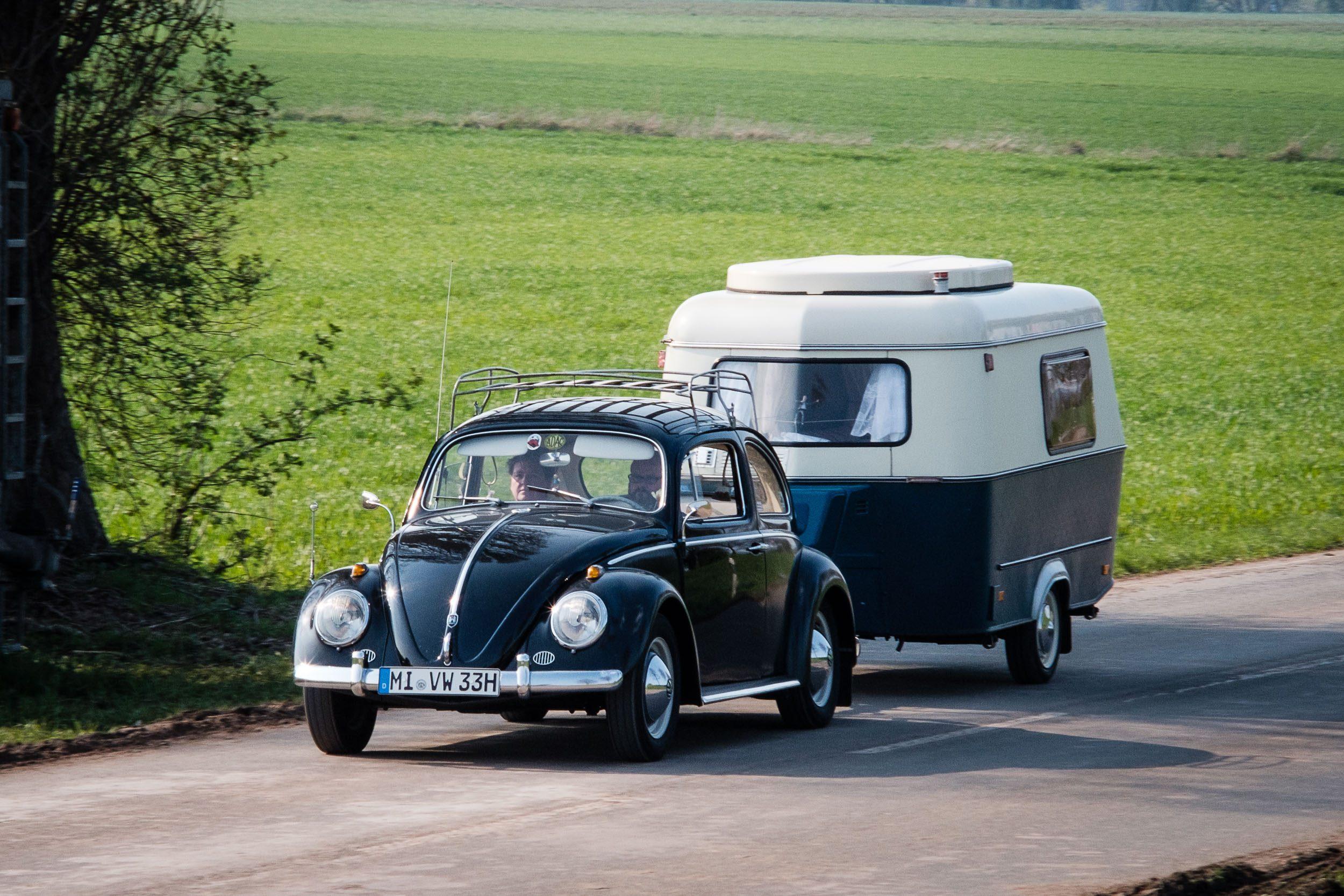 Die Abreise - Oldtimertreffen am großen Weserbogen VW Porsche Audi Klassik 2019
