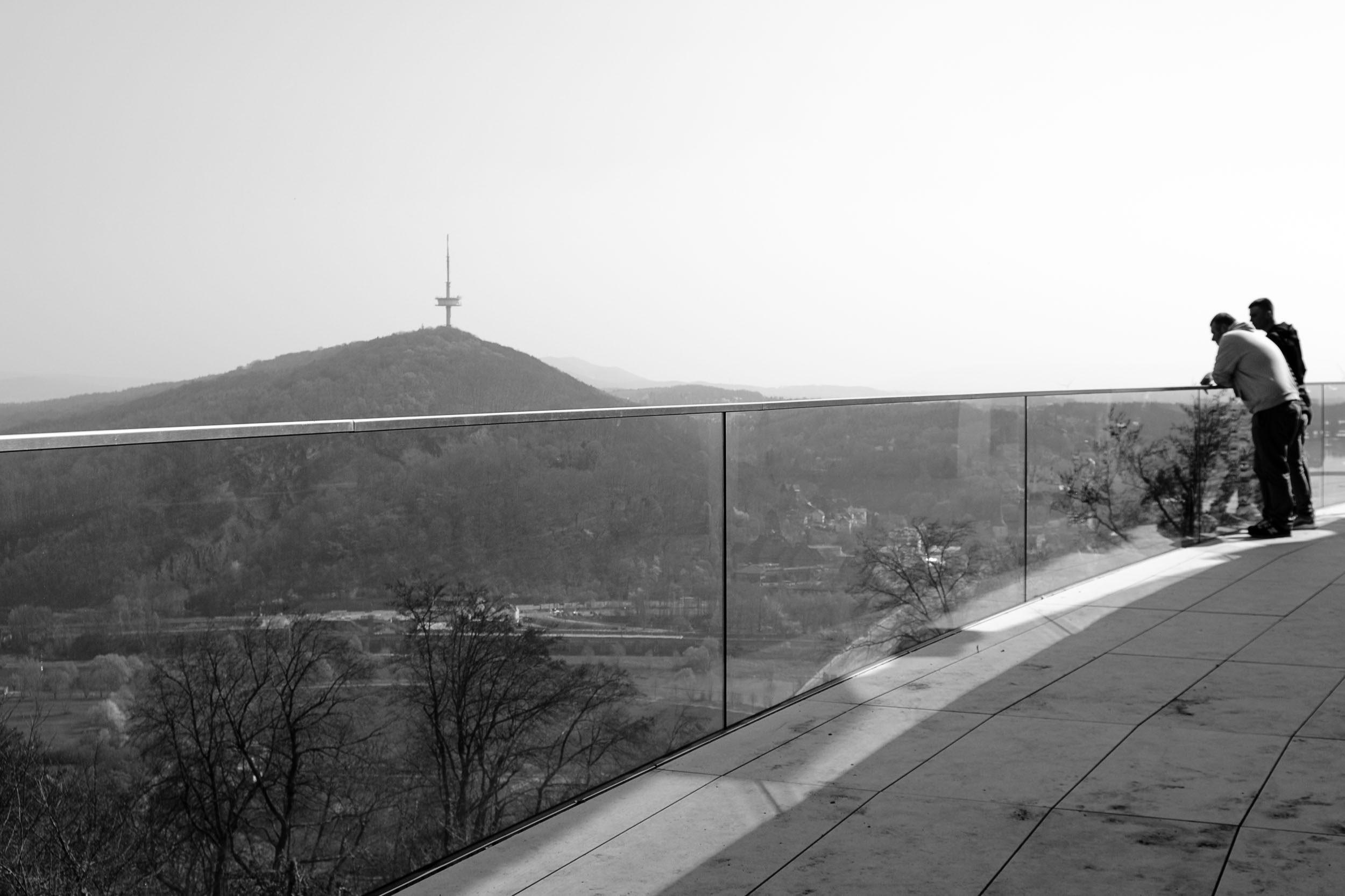 Bloci vom Kaiser-Wilhelm-Denkmal an der Porta Westfalica