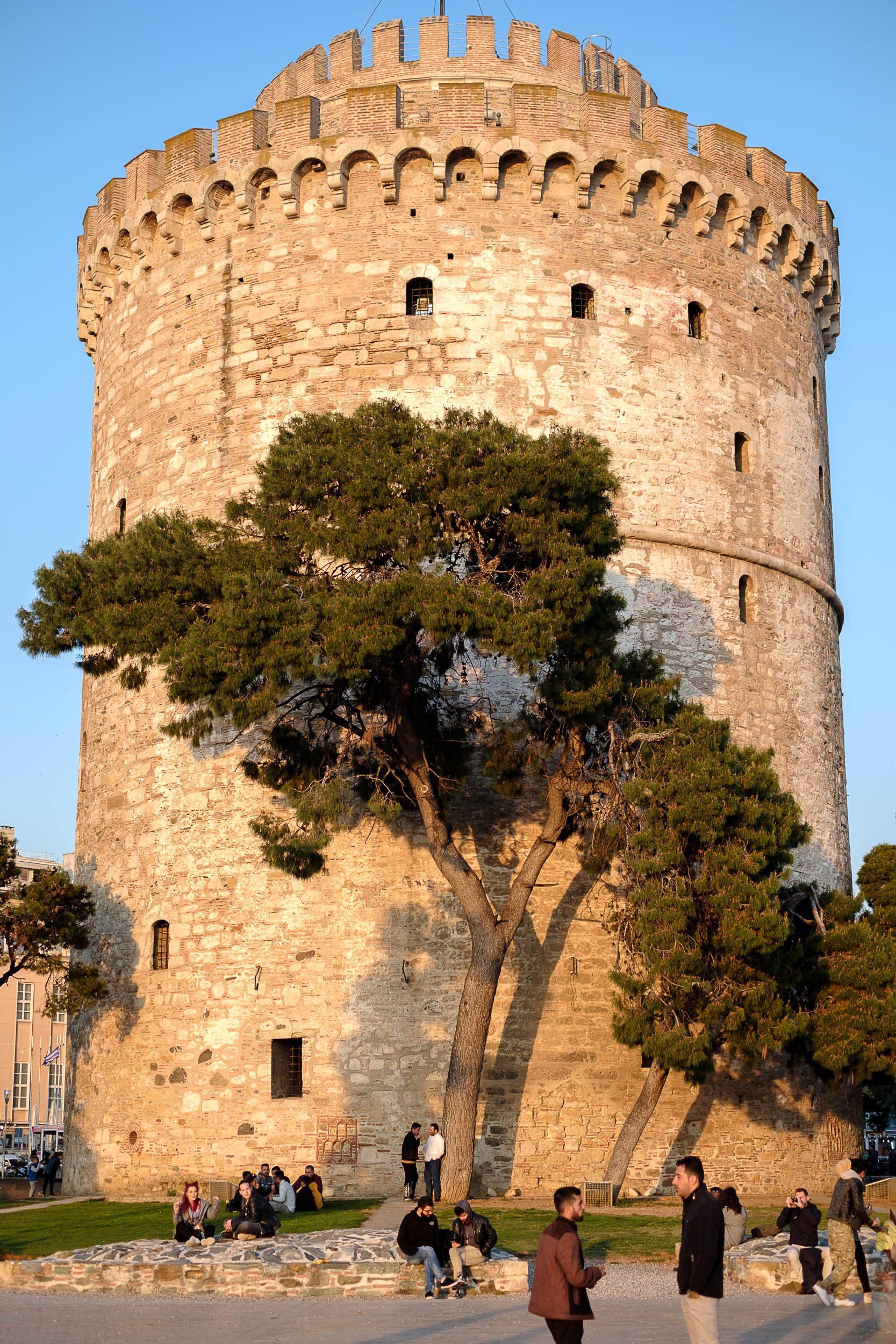 der weisse Turm, Thessaloniki, Griechenland