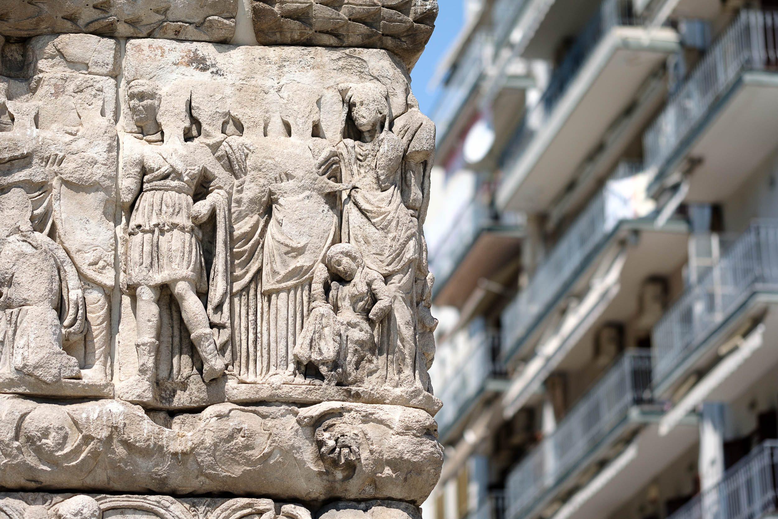 Galeriusbogen, Thessaloniki, Griechenland