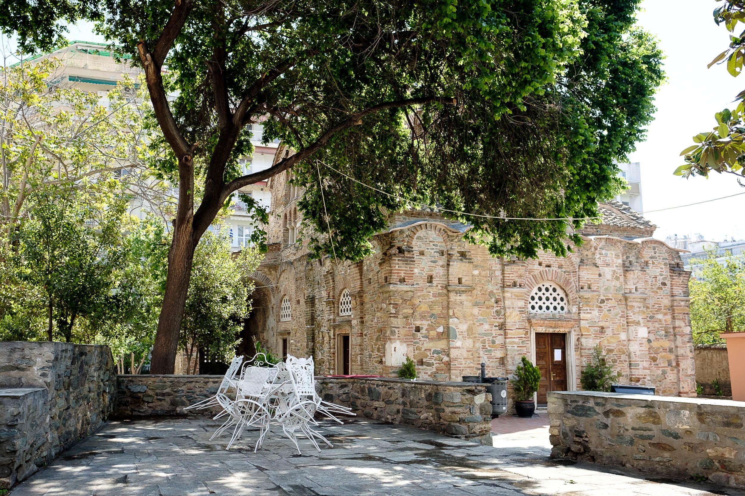 alte Kirch, Thessaloniki, Griechenland