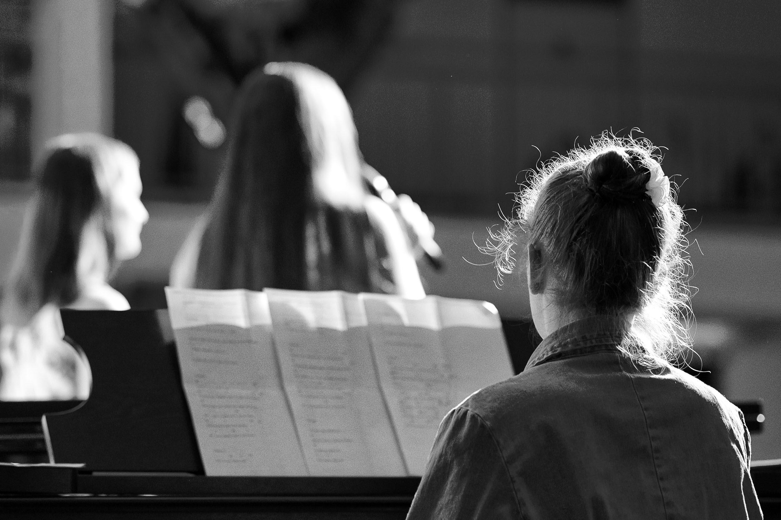 Klavierbegleitung Varieté Q1 Wesergymnasium Vlotho WGV 2019