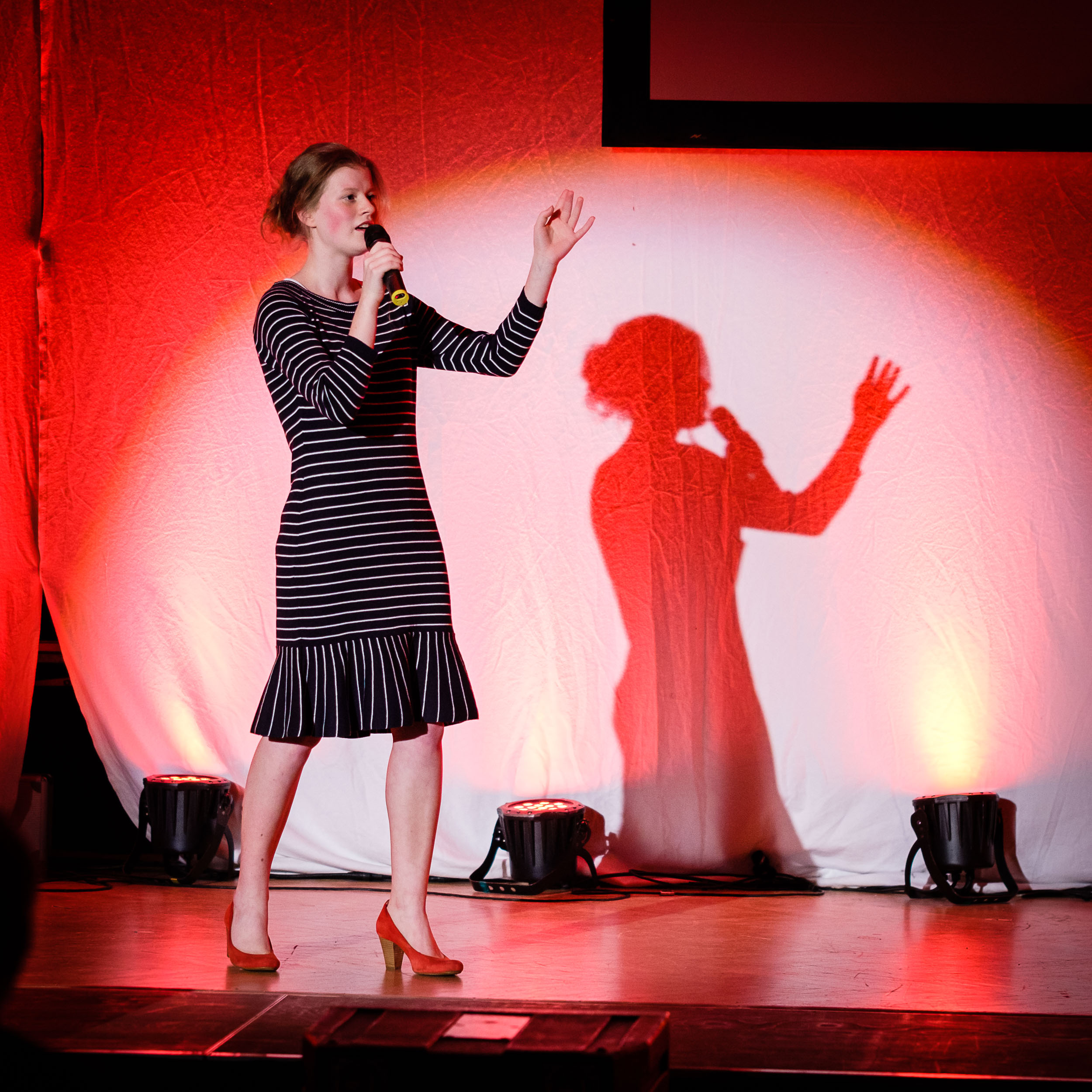 Sängerin Varieté Q1 Wesergymnasium Vlotho WGV 2019