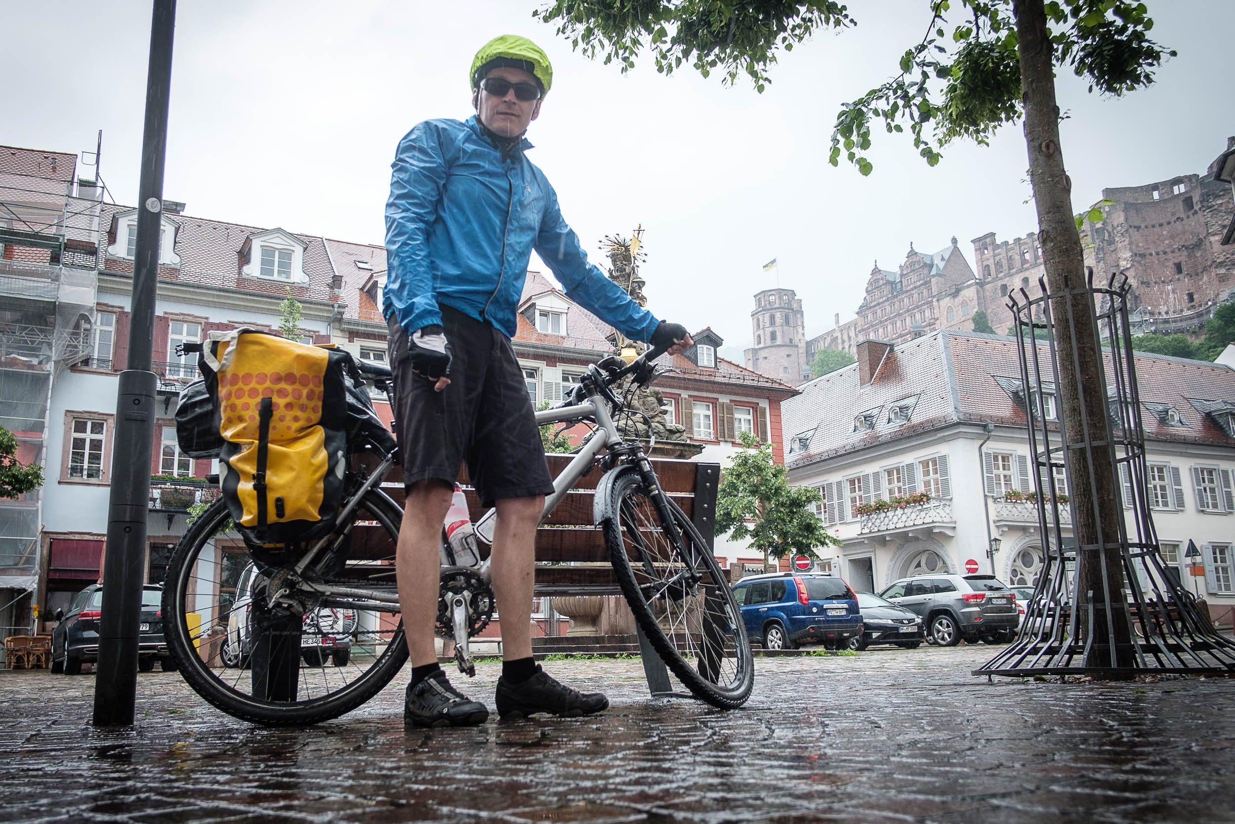 Regen in Heidelberg