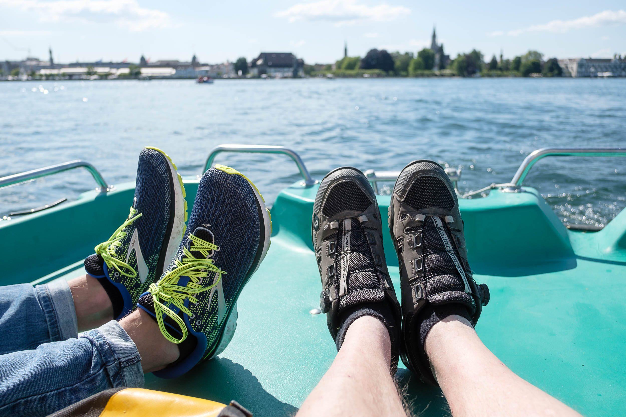 Tretbootfahren auf dem Bodensee