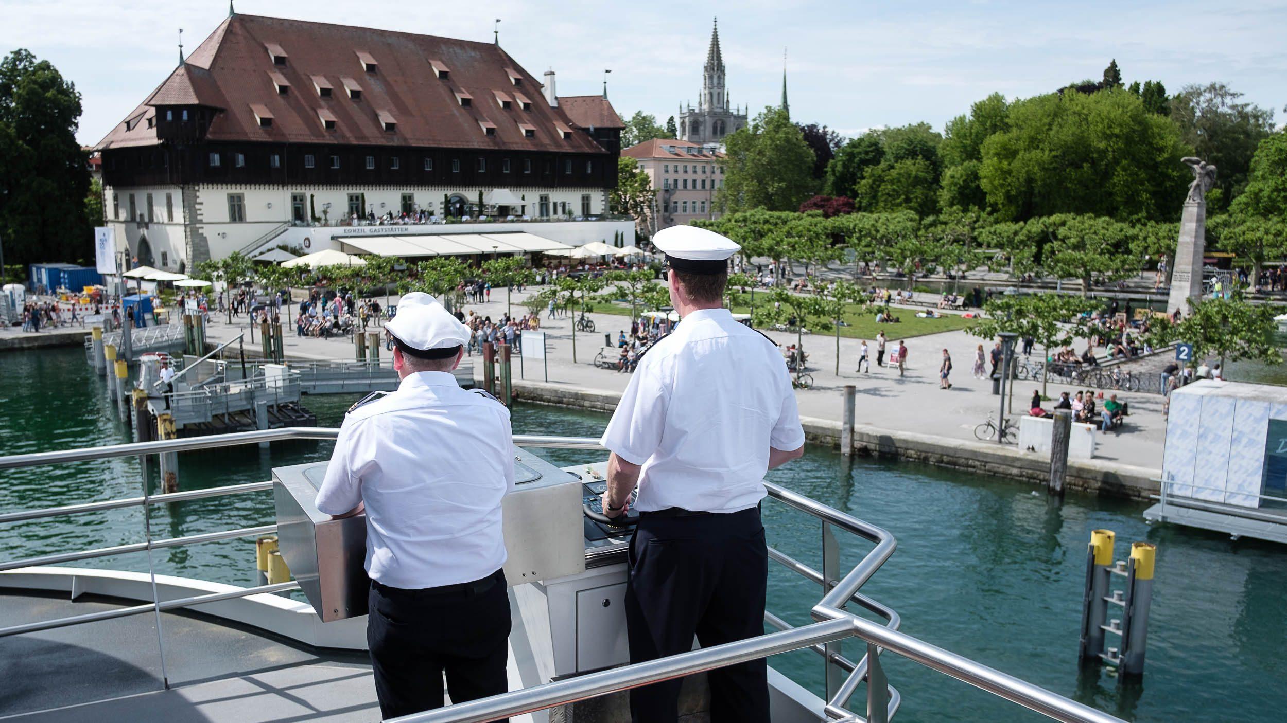 Kapitän Hafen Konstanz