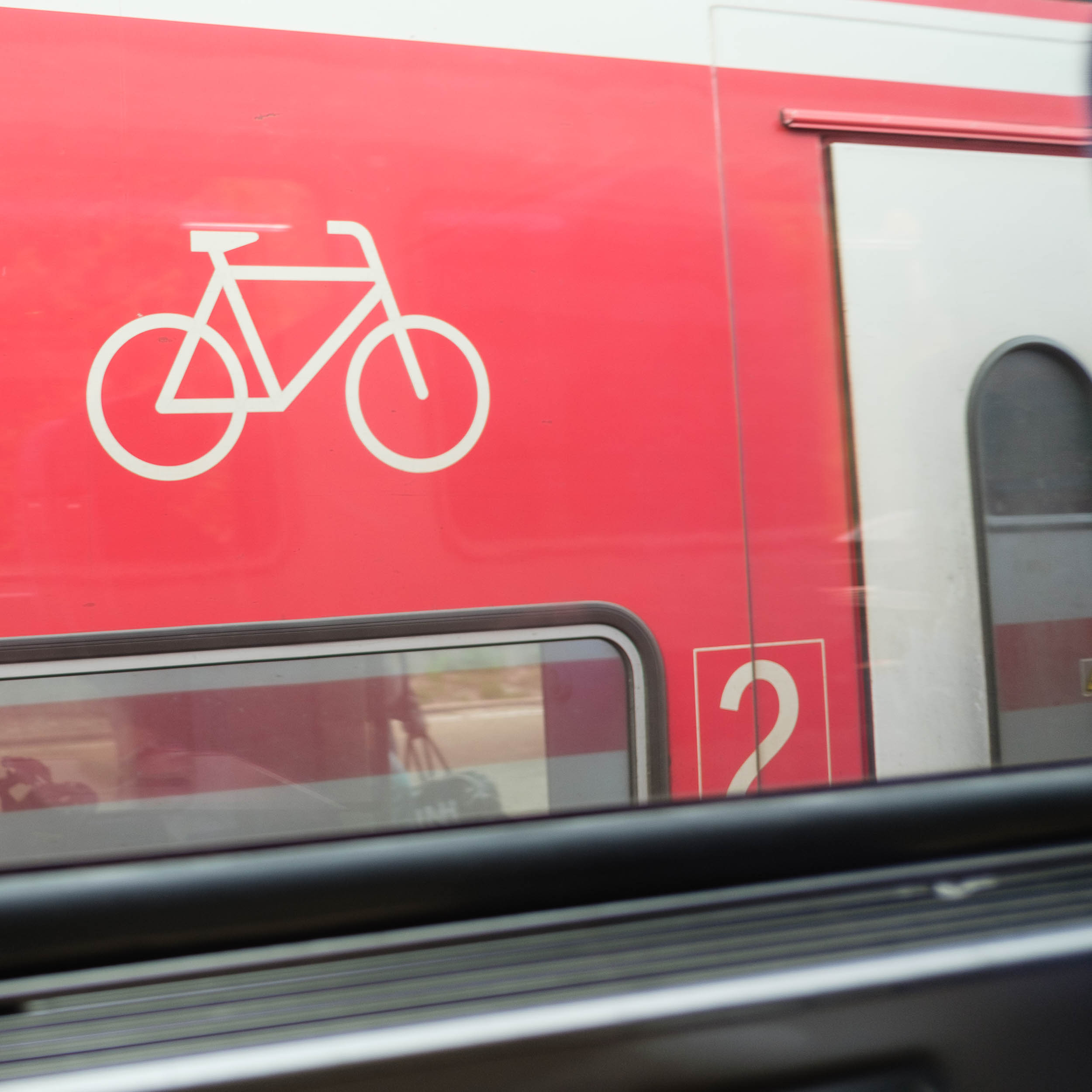 Bahn Fahrradabteil