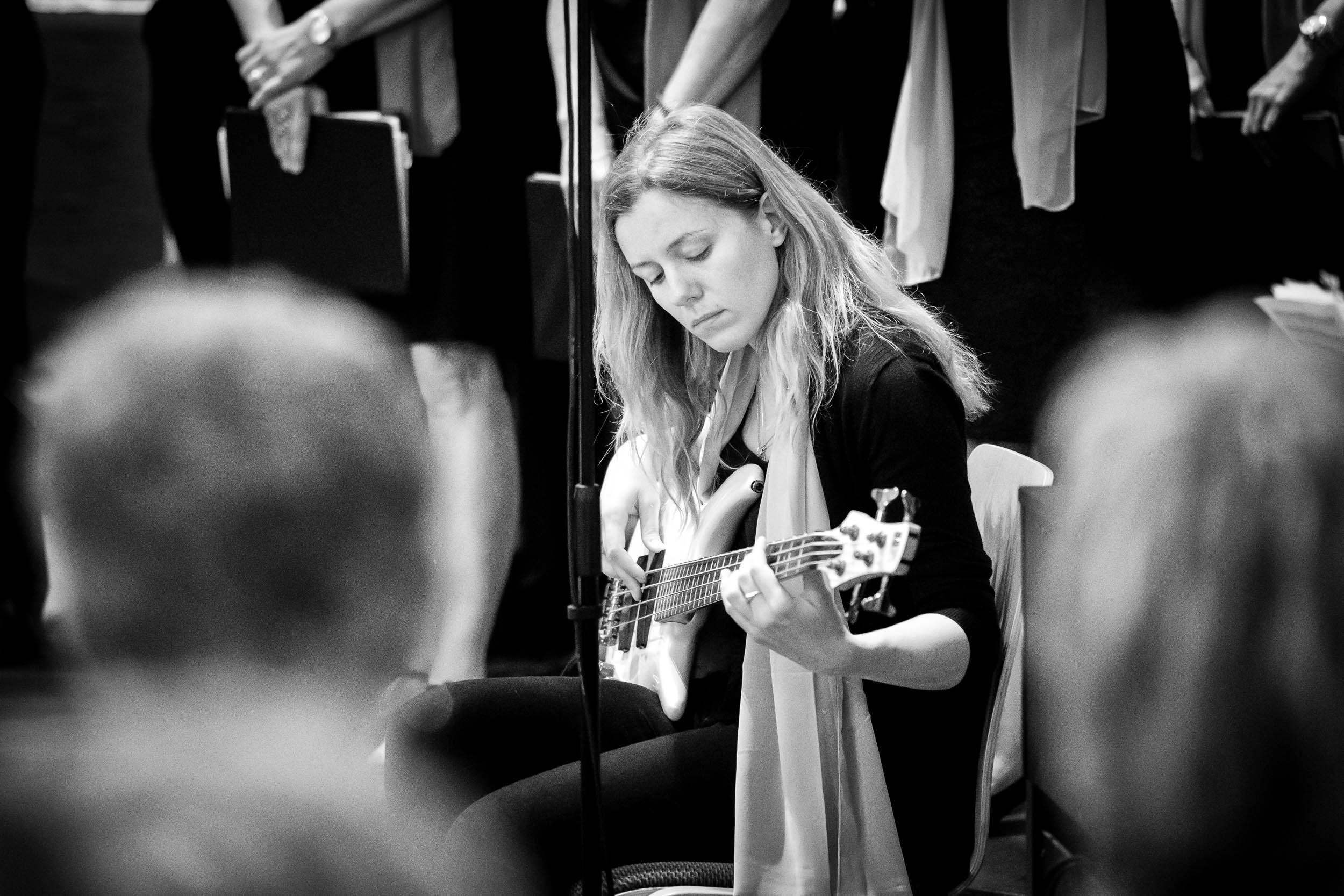 Ekaterina Panina E-Bass Konzert Good News St. Stephan Vlotho