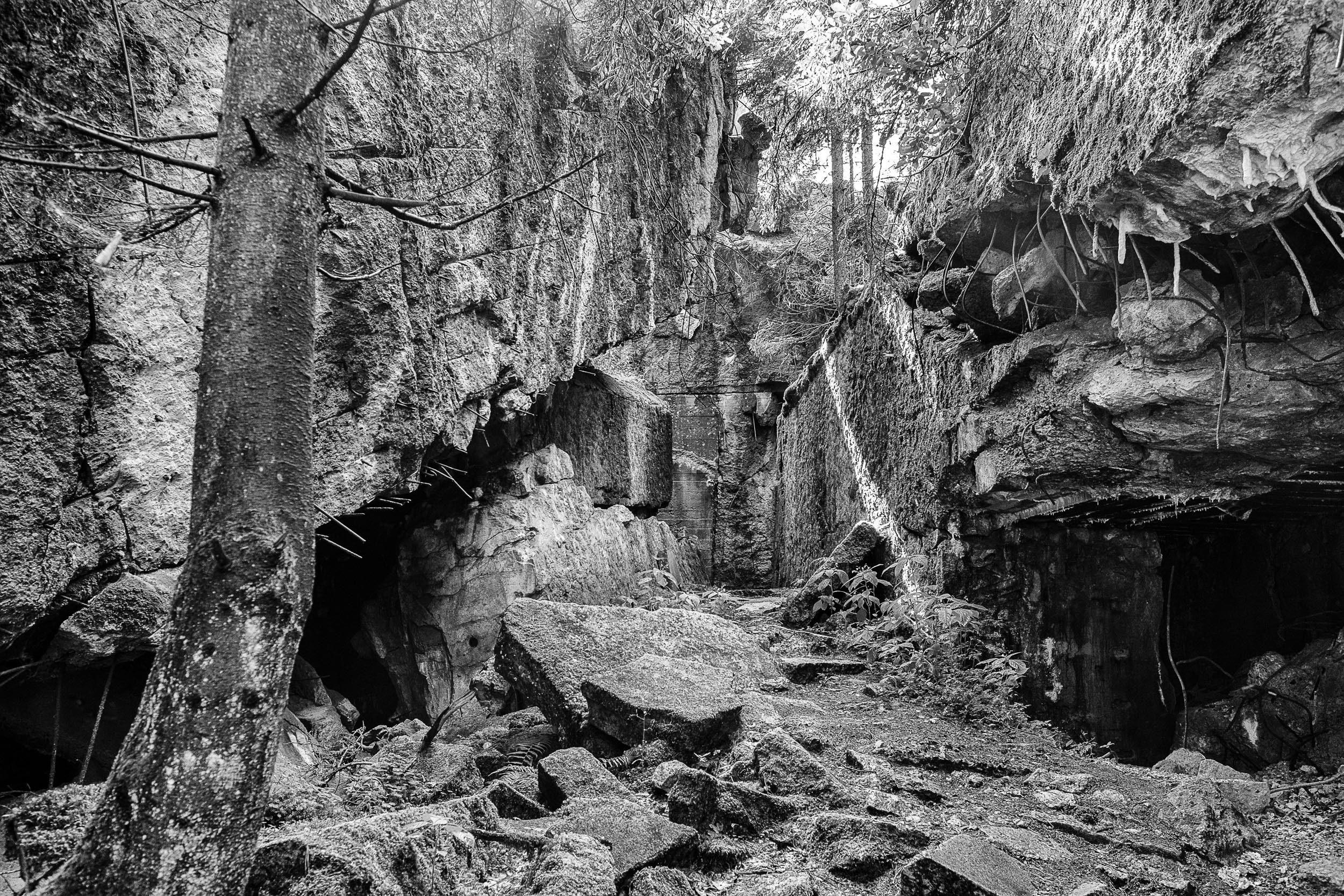 zerstörter Bunker Wolfsschanze